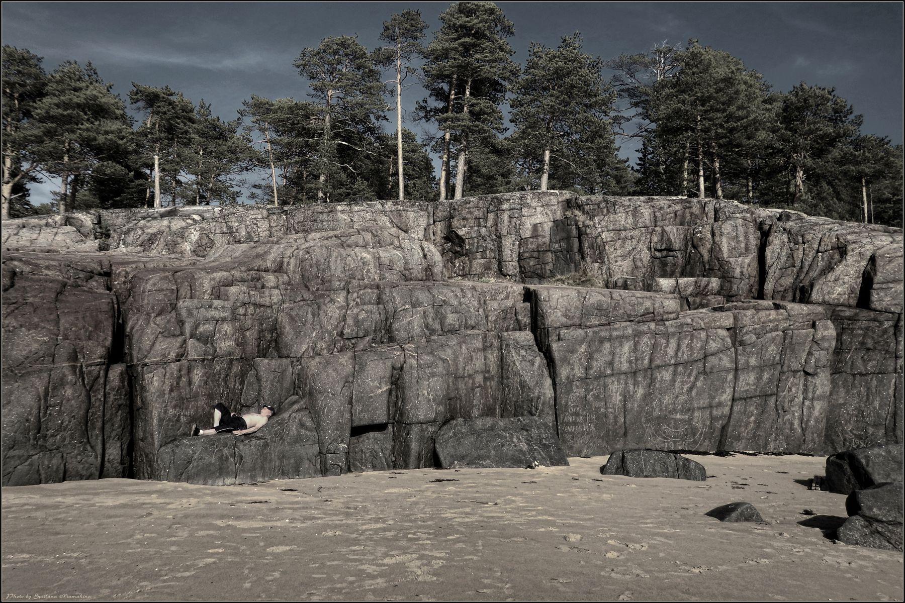 *Своя ниша в природе* фотография путешествие лето остров скалы остальное Фото.Сайт Светлана Мамакина Lihgra Adventure