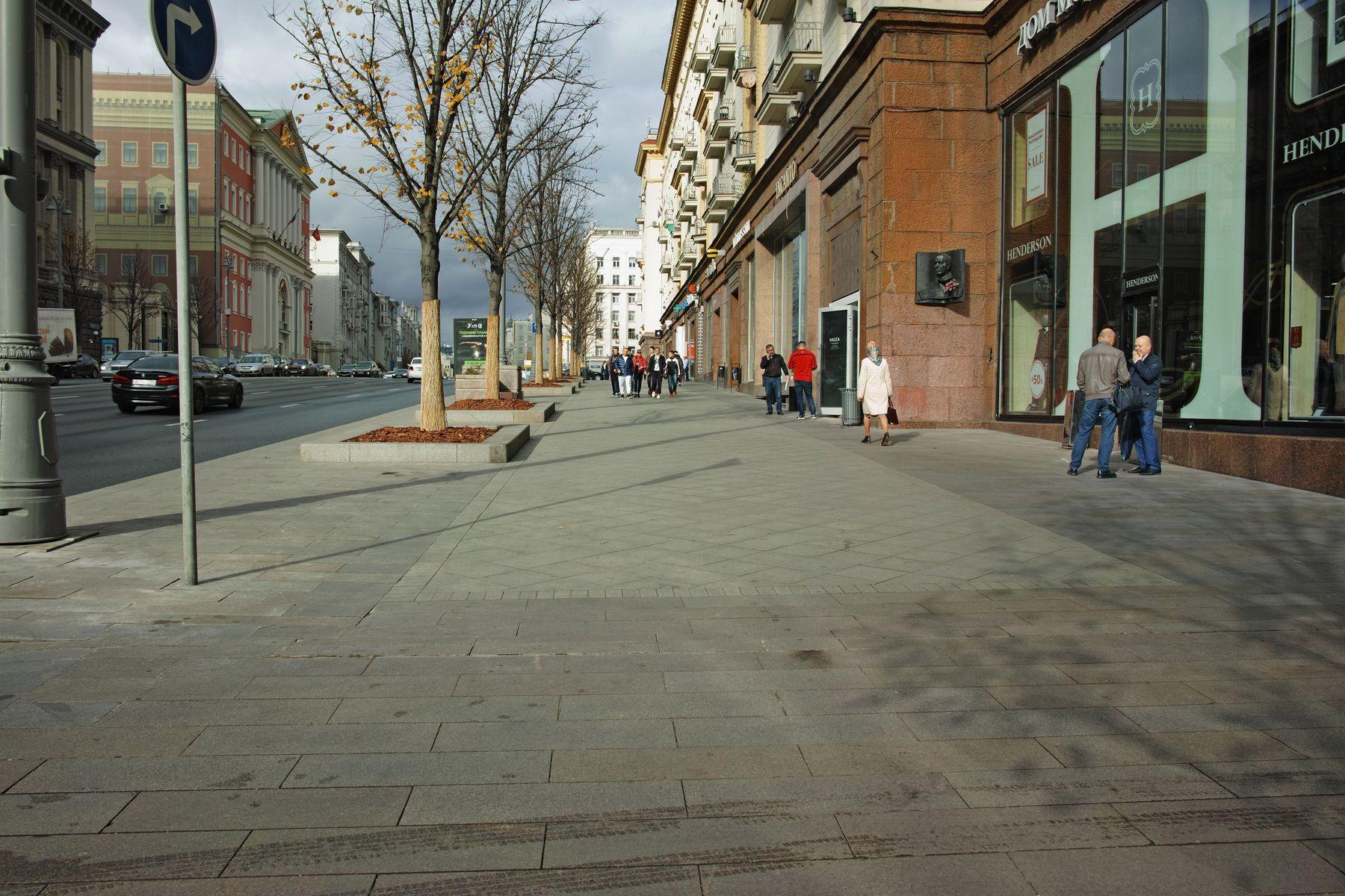 Тверская город Москва улица Тверская