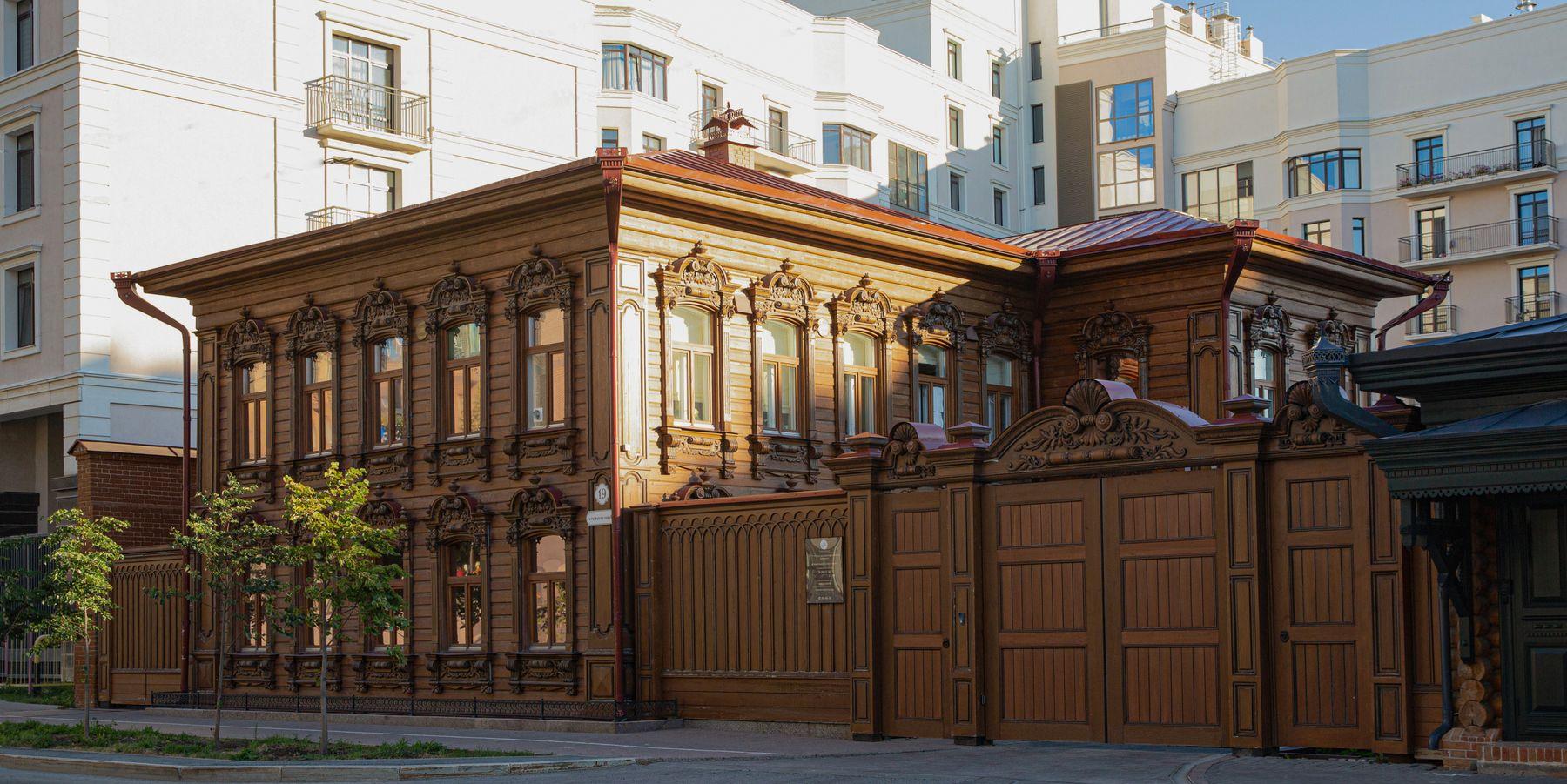 Дом на Осипенко Тюмень Резьба Стиль Деревянная резьба