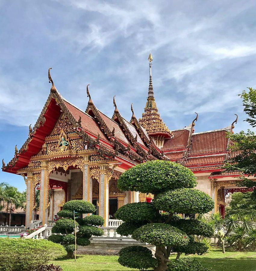 Храмовый комплекс Ват Чалонг таиланд храм ват чалонг