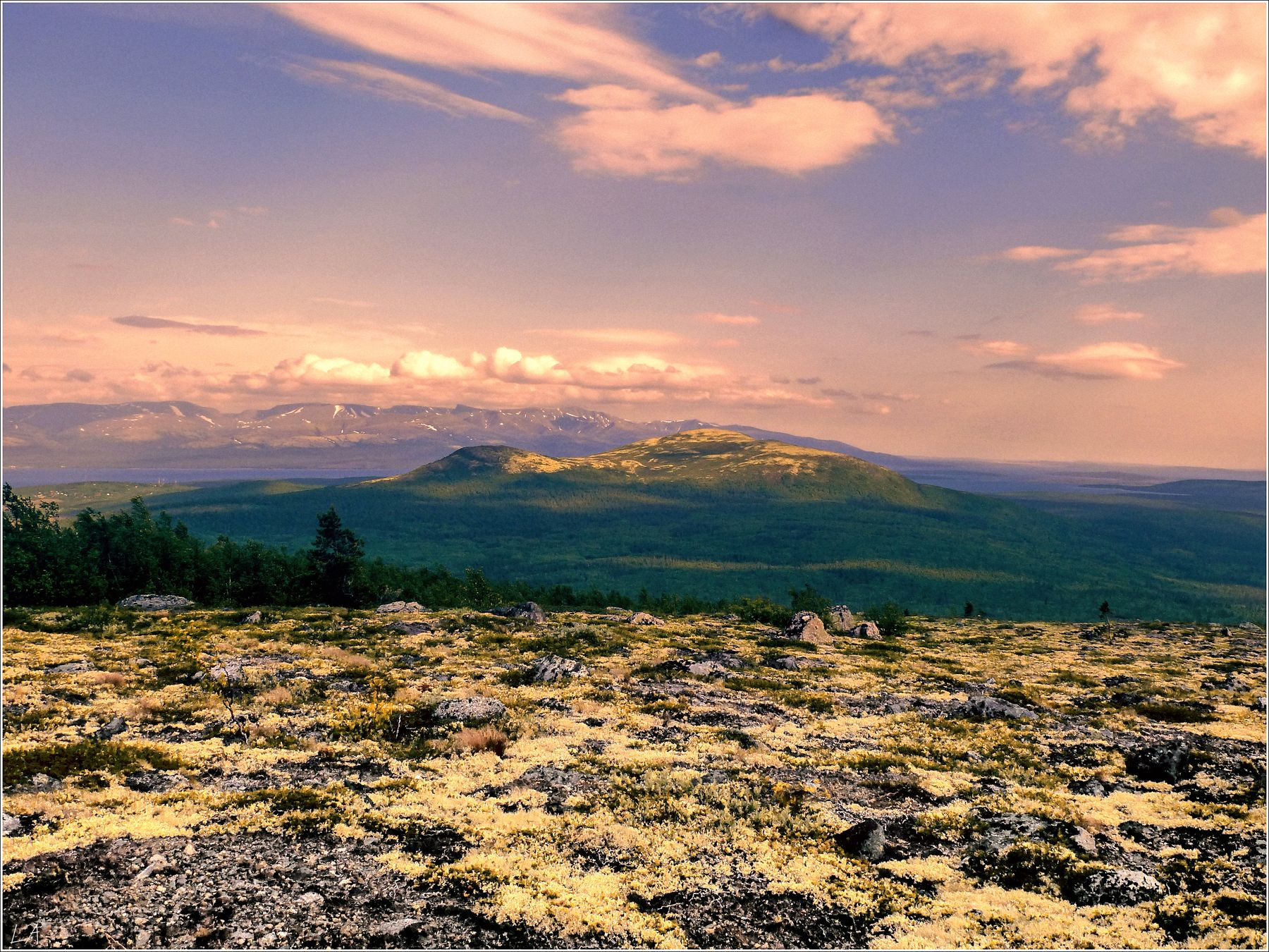 *Лапландский пейзаж* фотография путешествие Кольский полуостров Заполярье Север пейзаж природа Мончетундра Фото.Сайт Светлана Мамакина Lihgra Adventure