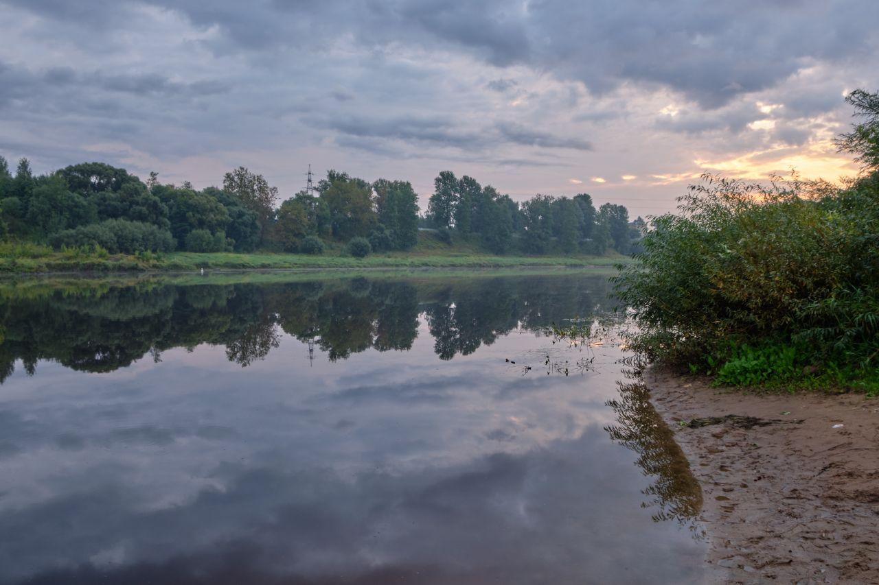 Утро на реке утро река
