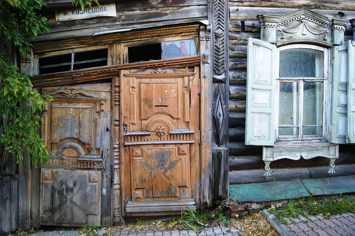 *** Томск деревянная архитектура Сибирь