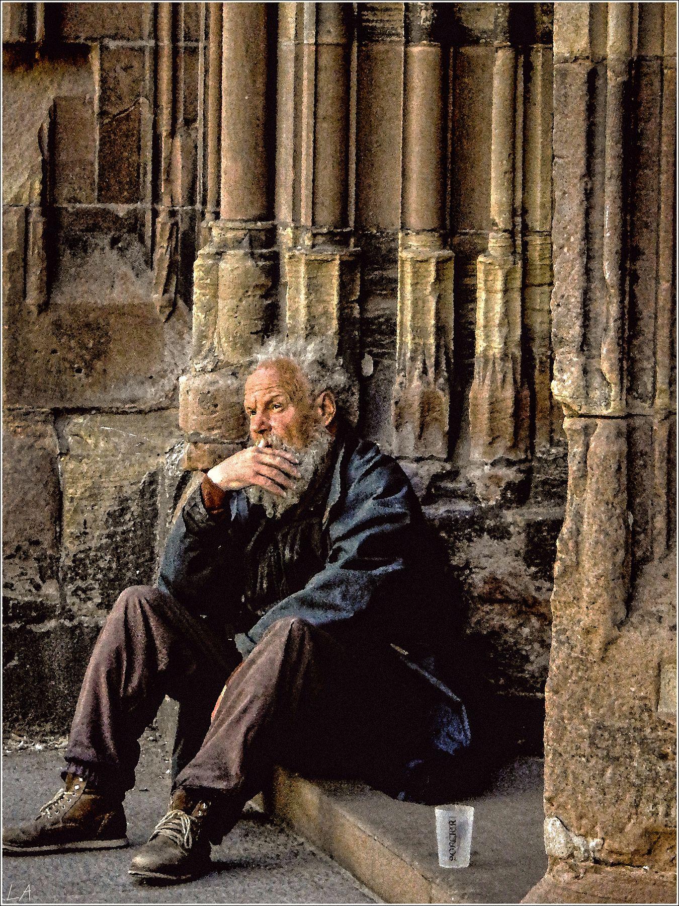 *... О бытие* фотография путешествие Франция Страсбург портрет жанр костел Нотр Дам Фото.Сайт Photo.Sight Lihgra Adventure Светлана Мамакина