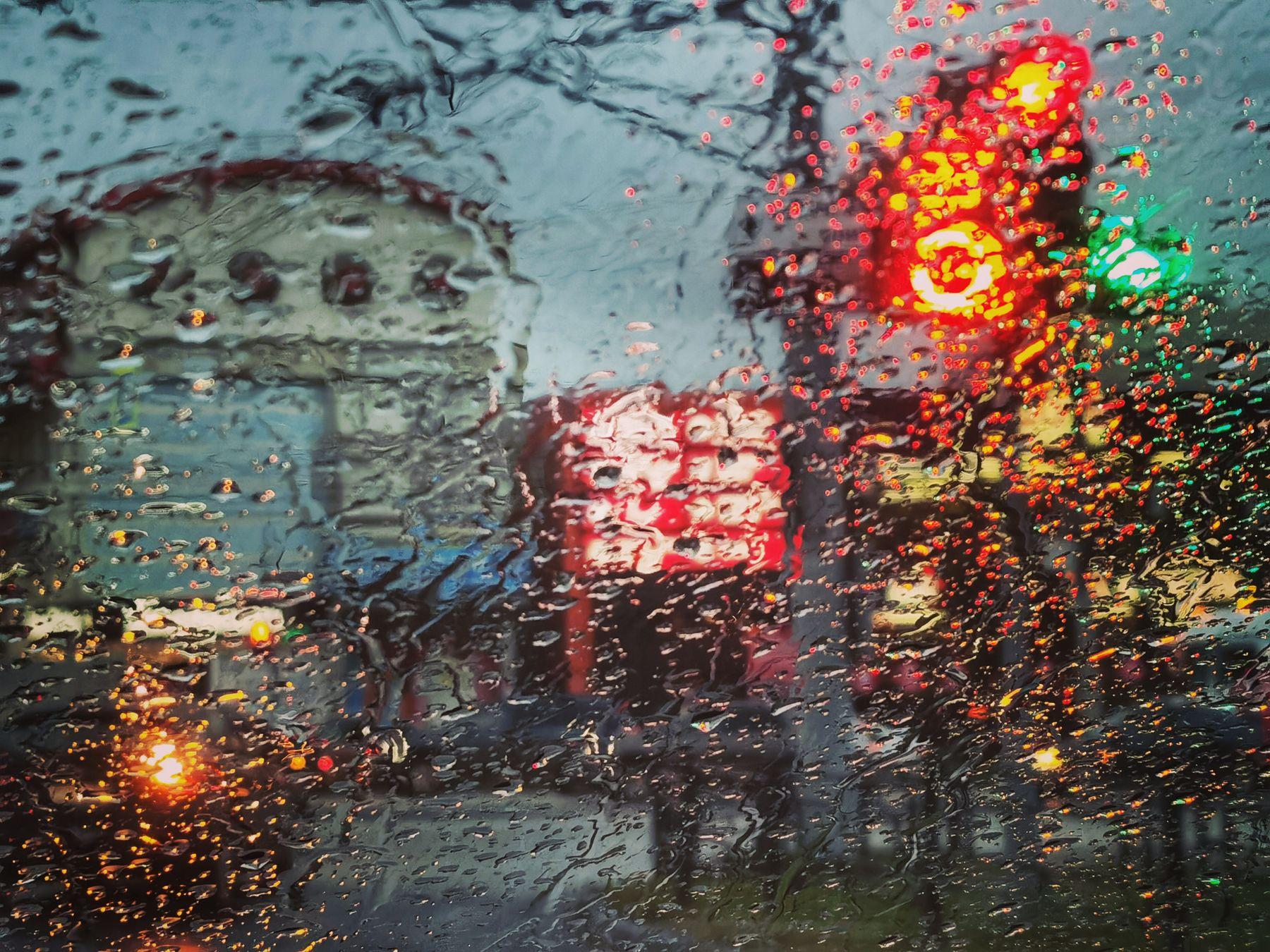 Художник дождь