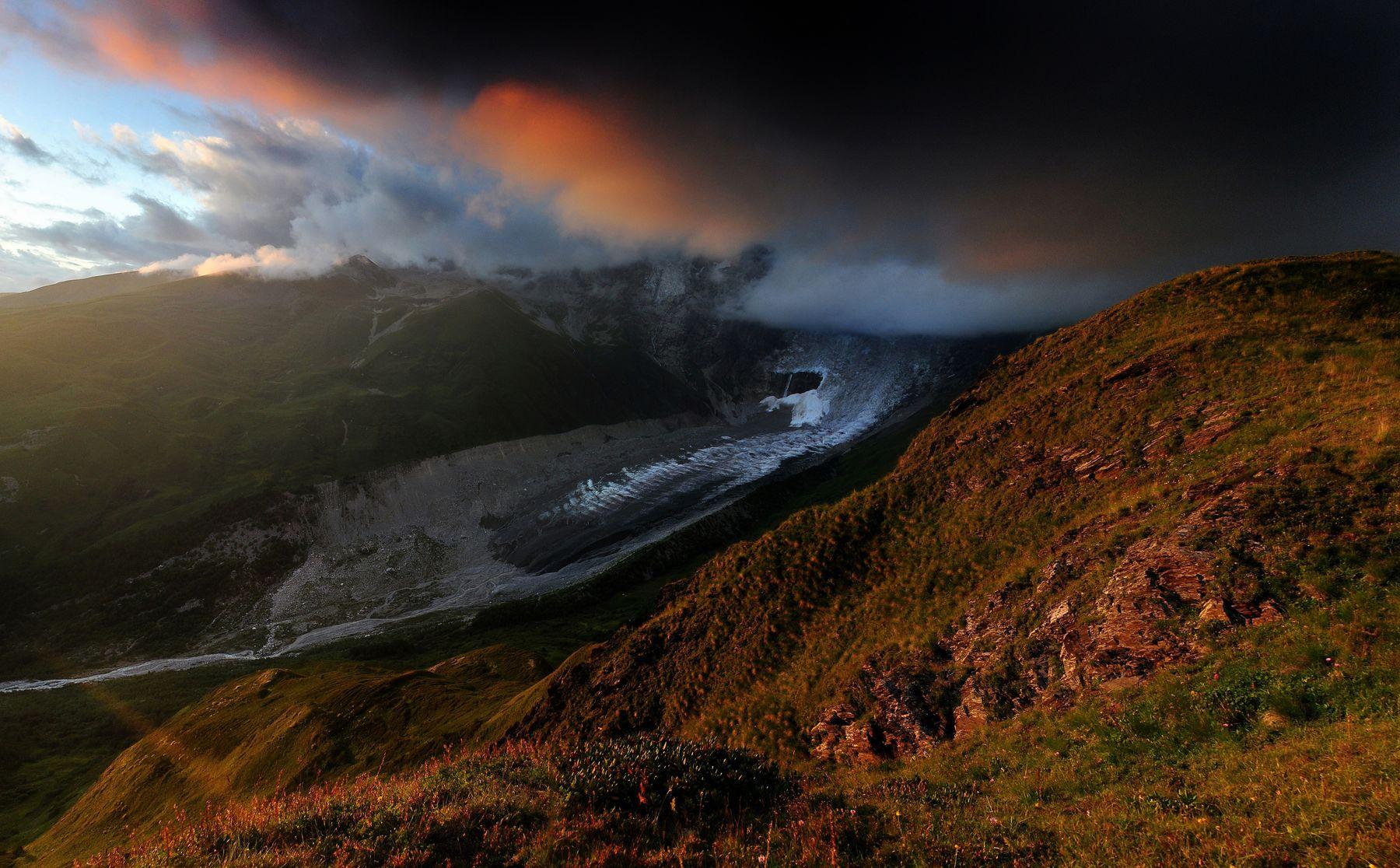 *** Грузия Сванетия г.Тетнульди ледник Лардаади перев.Чхунтиер
