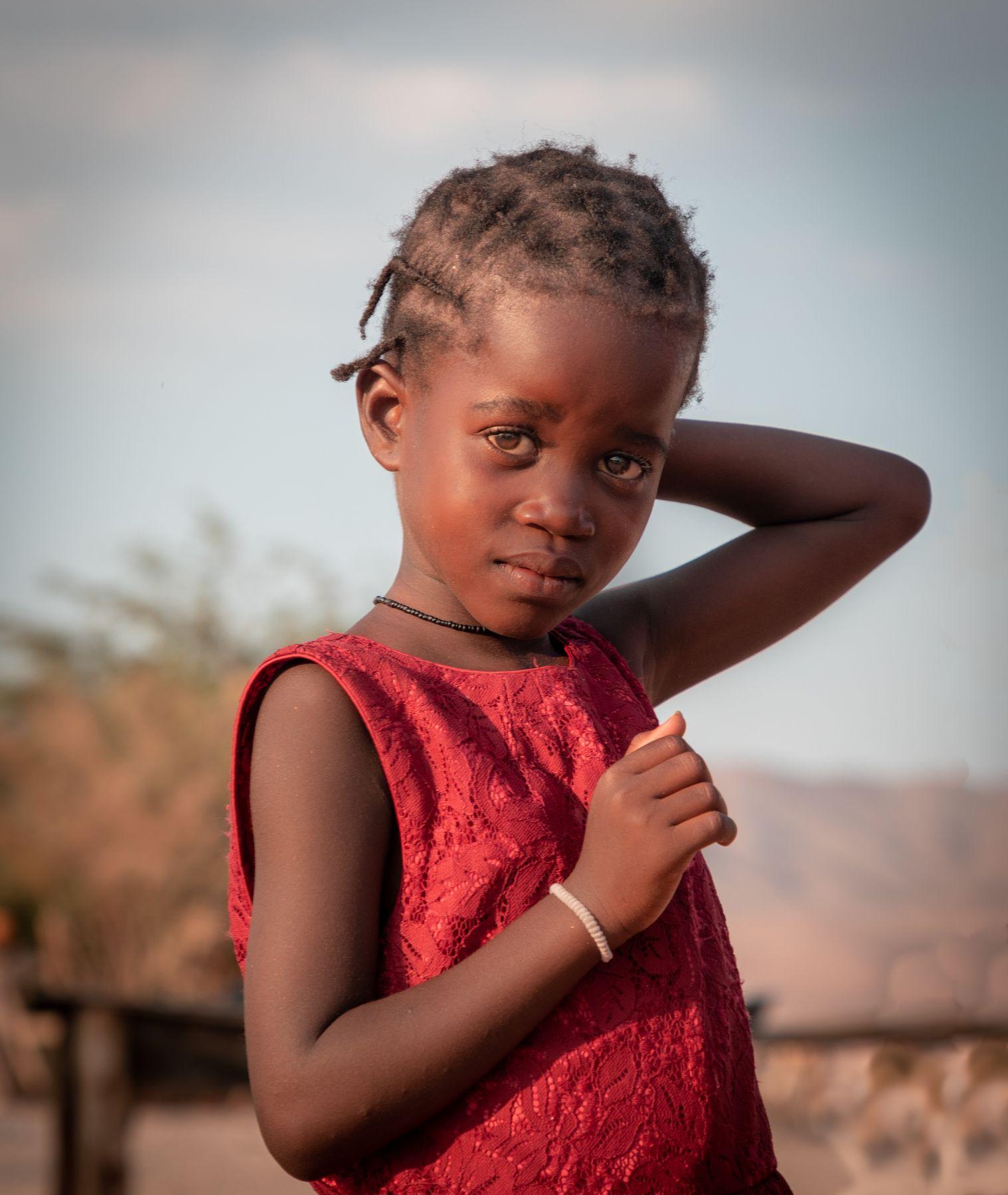 Девочка из племени гереро, Намибия африка намибия портрет женский девочка девушка