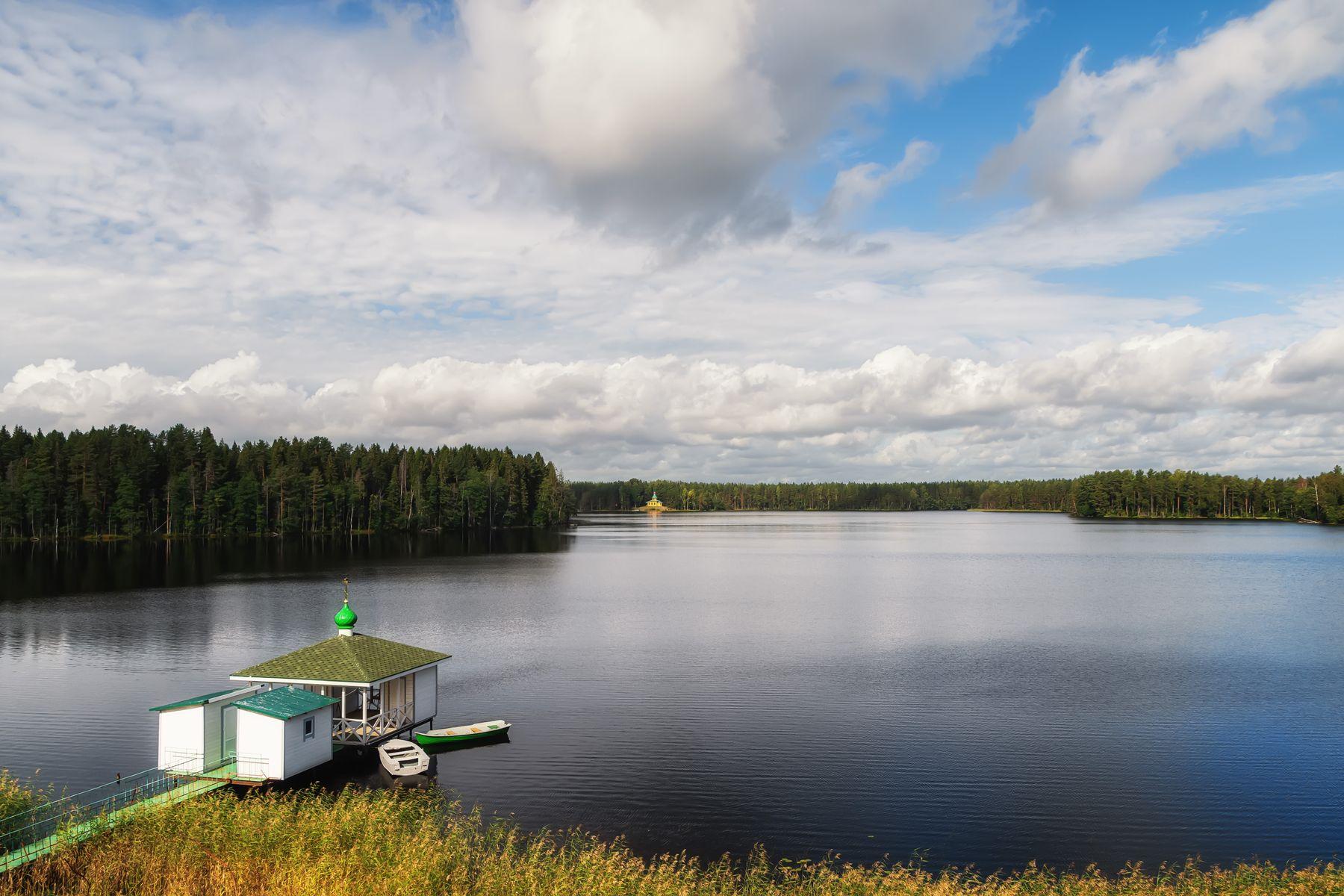 Дальний скит скит озеро Карелия