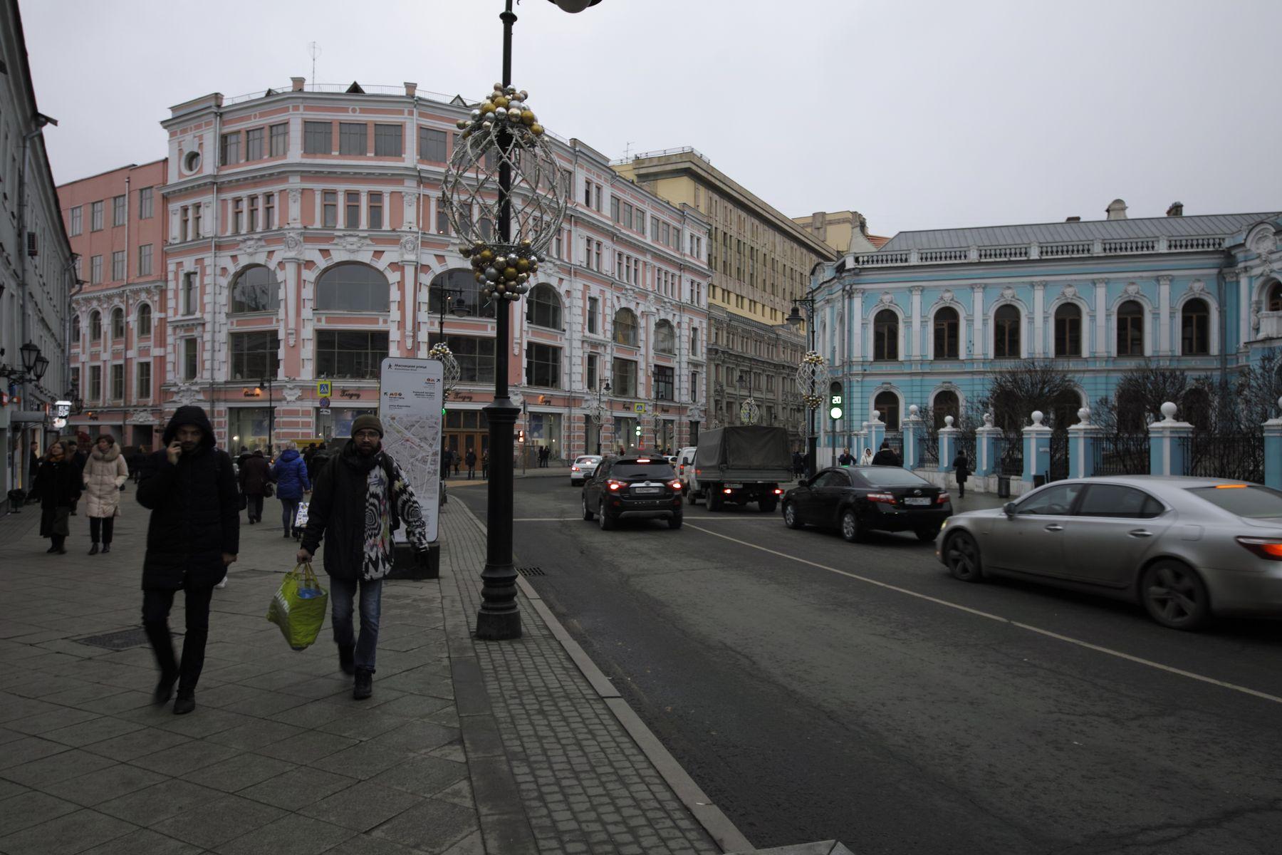 Мясницкая город Москва улица Мясницкая