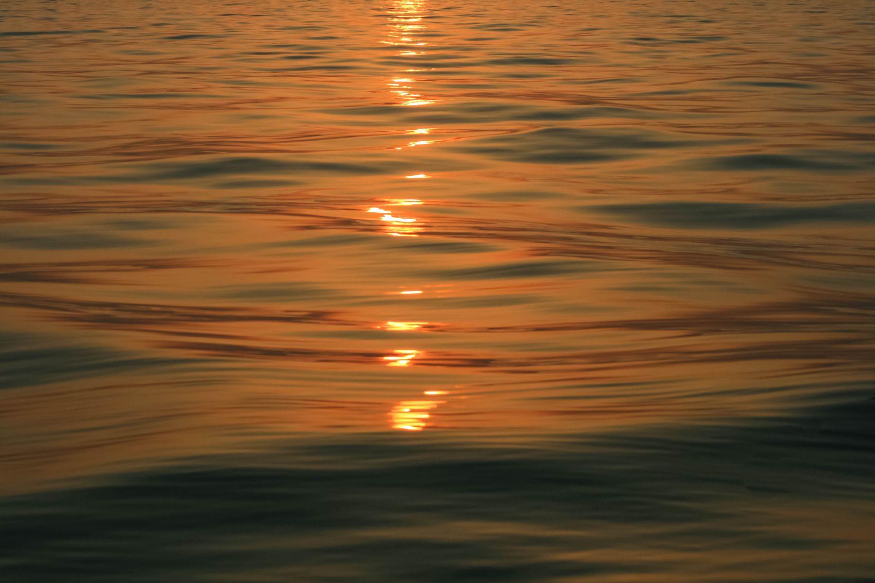 ***палитра закатного моря крым море закат