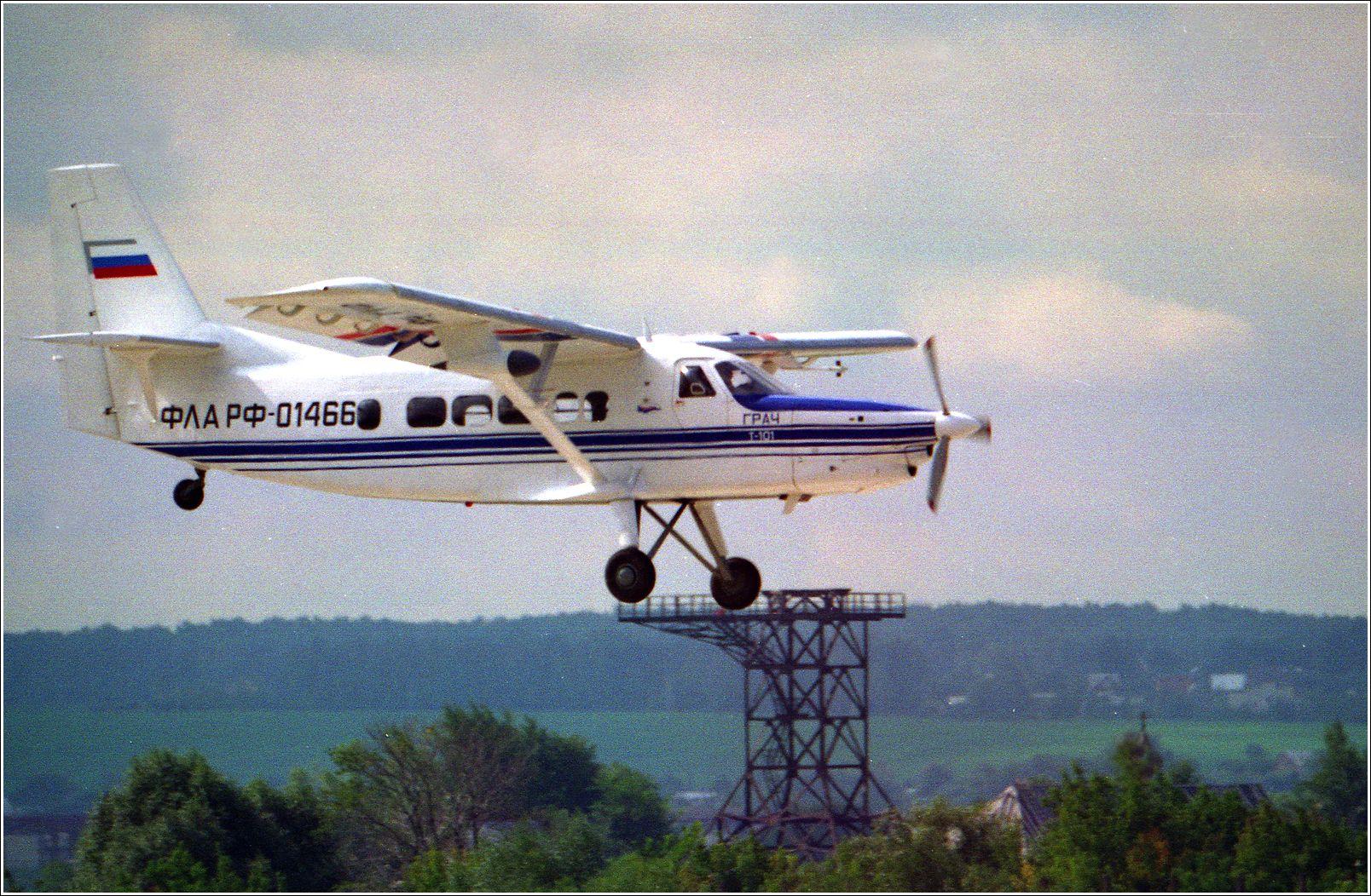 Грач Грач самолет полет Жуковский 1999