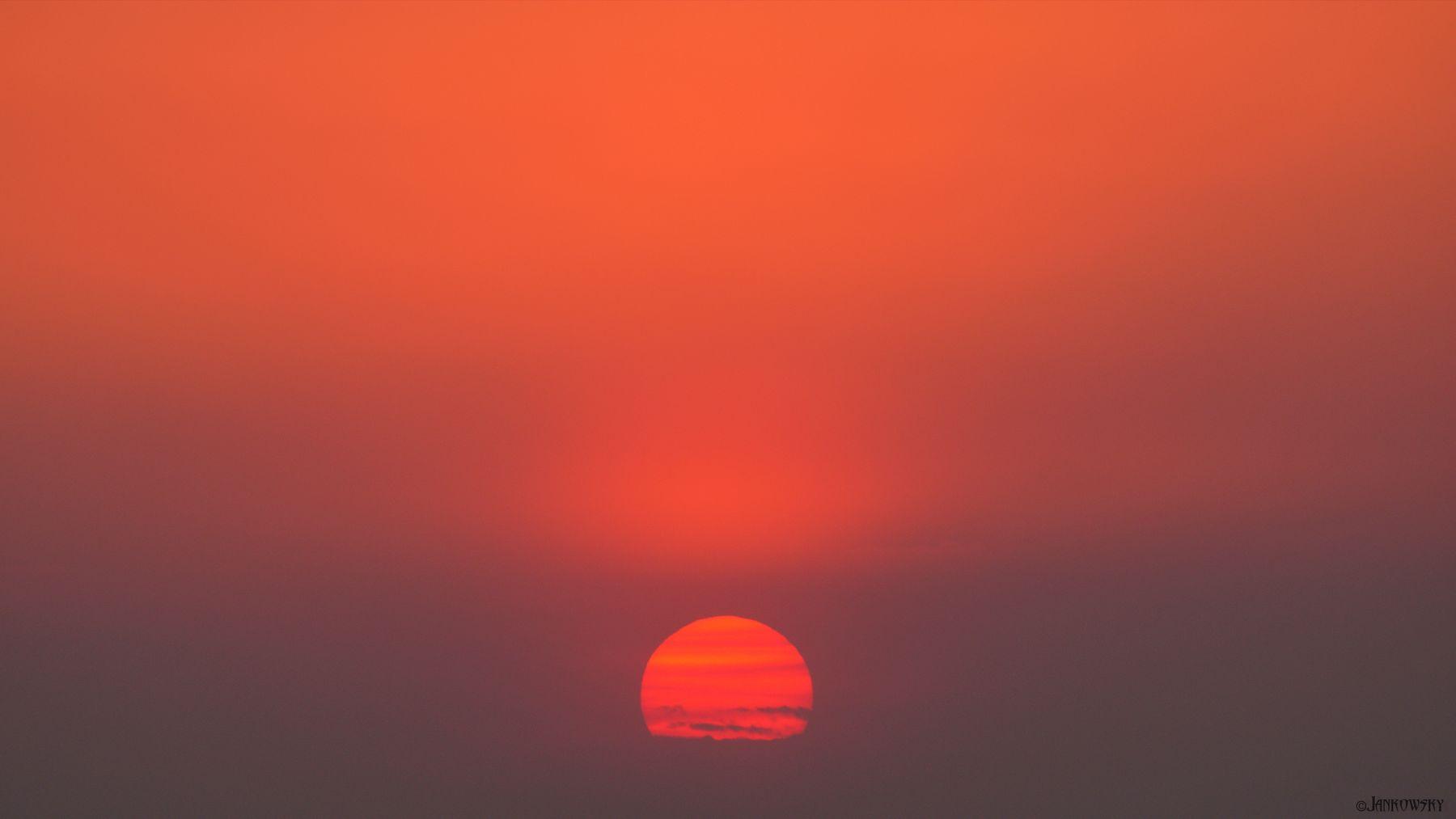 Sunshine Gradient пекло градиент розовое небо закат омск canon fd 300mm F2.8l