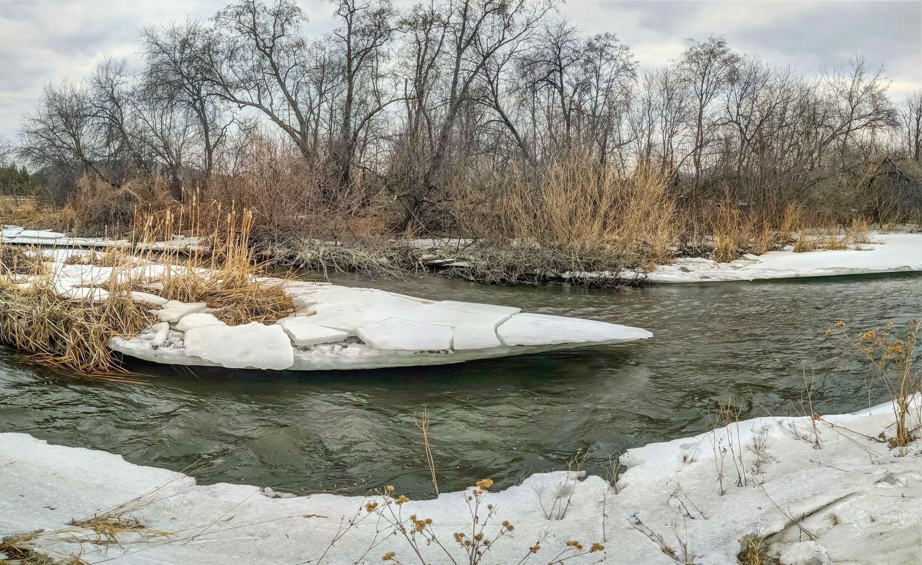 Весна на реке Миасс. Южный Урал Миасс река природа весна