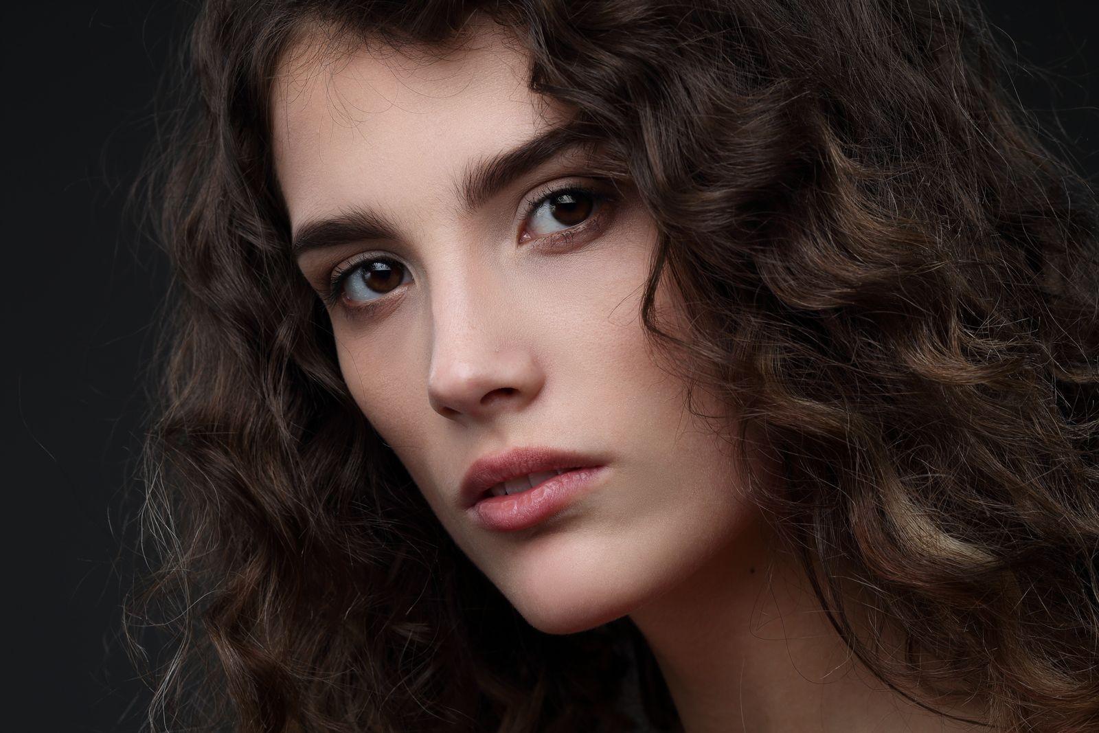 Надежда К Девушка женщина модель молодость взгляд портрет бьюти фото красивая актриса волосы