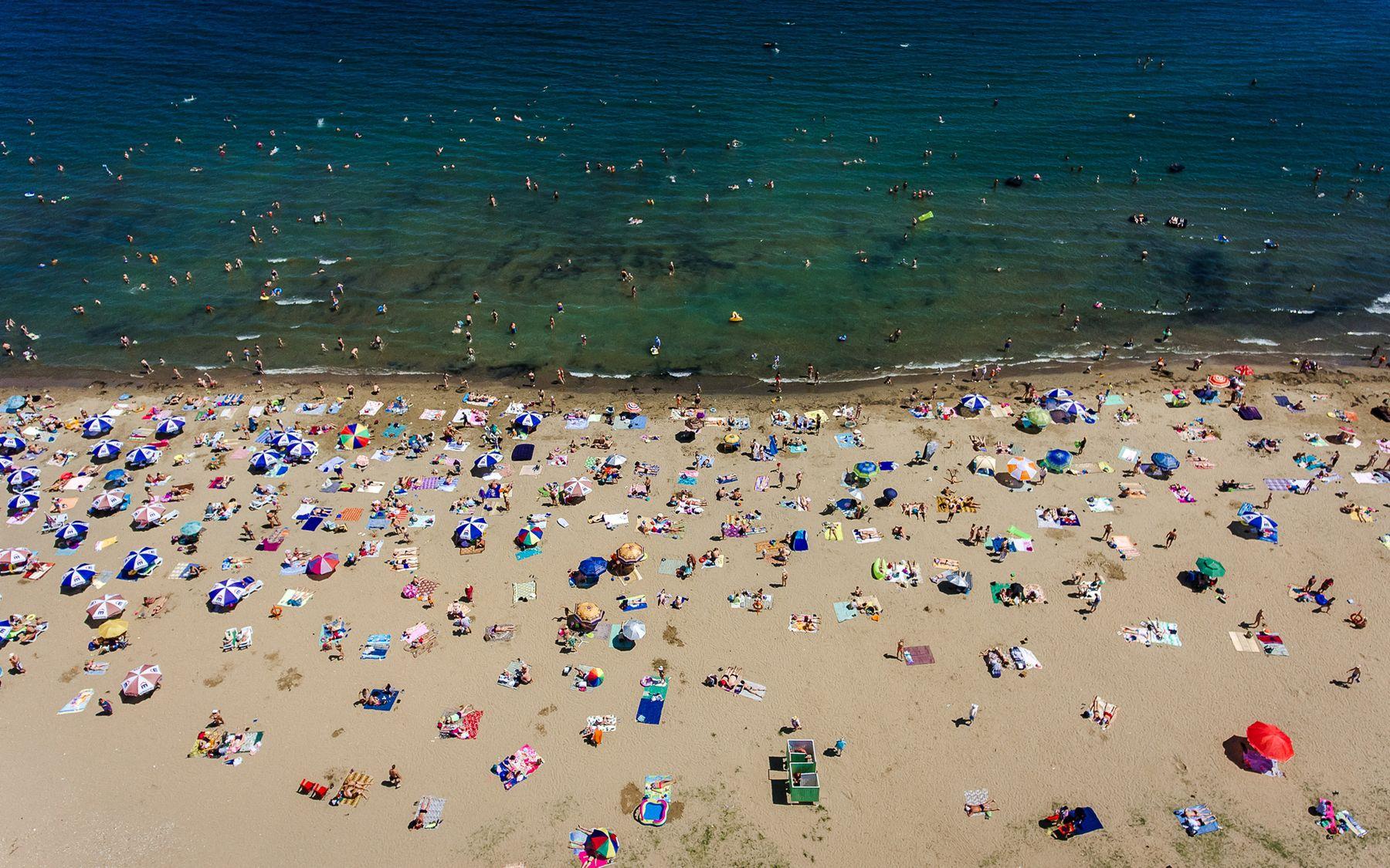 Подальше от городской суеты Владивосток лето шамора пляж люди отдых