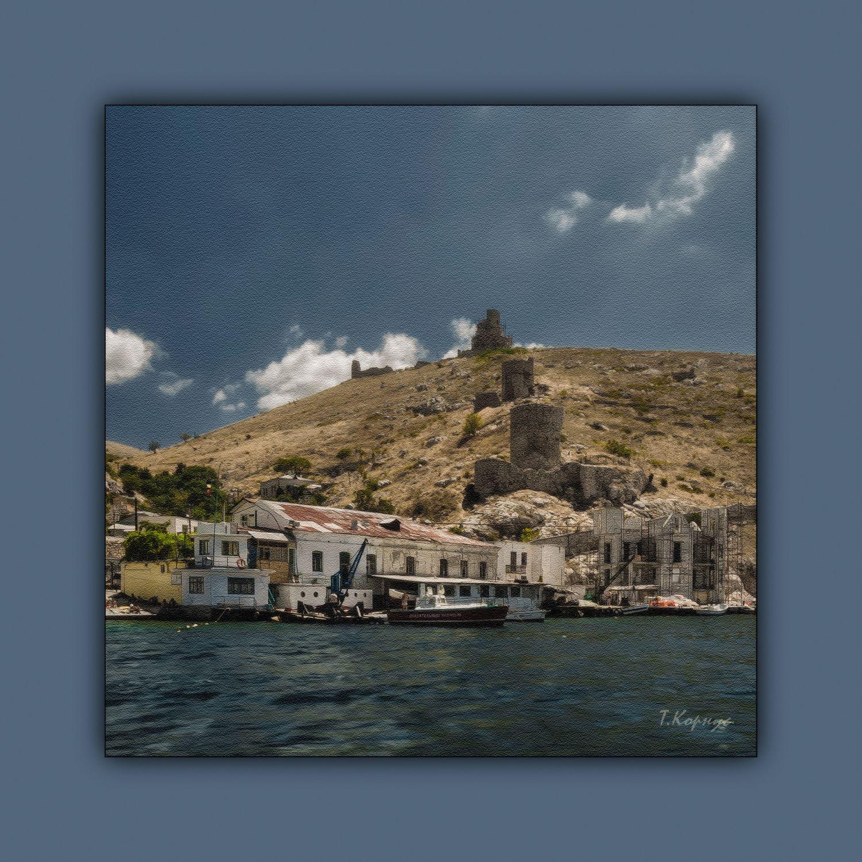 Чембало крепость бухта Крым Севастополь Балаклава