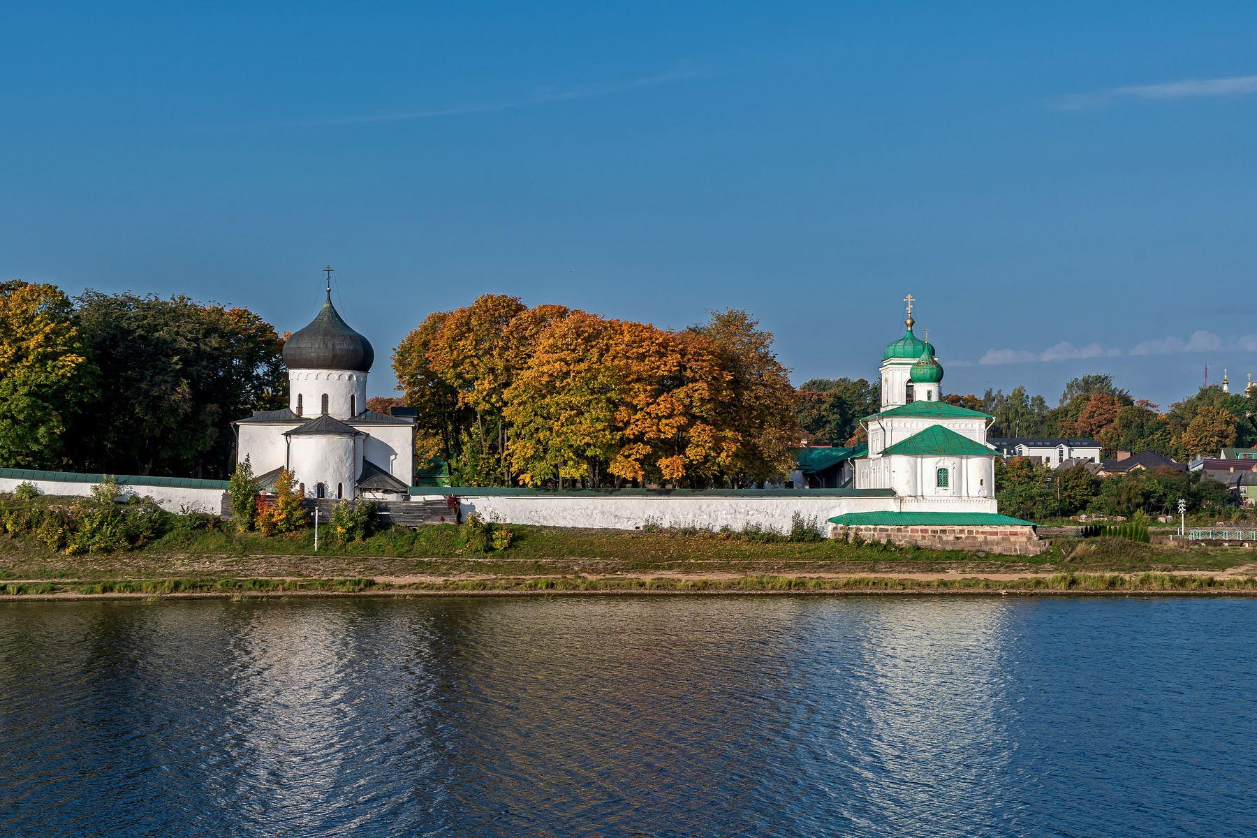 Спасо-Преображенский Мирожский монастырь, г.Псков