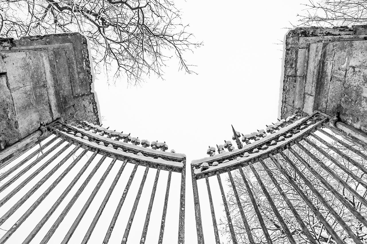 Ворота ворота зима