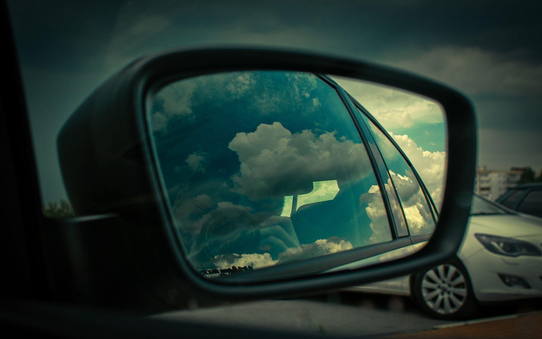 Автопортрет с облаками