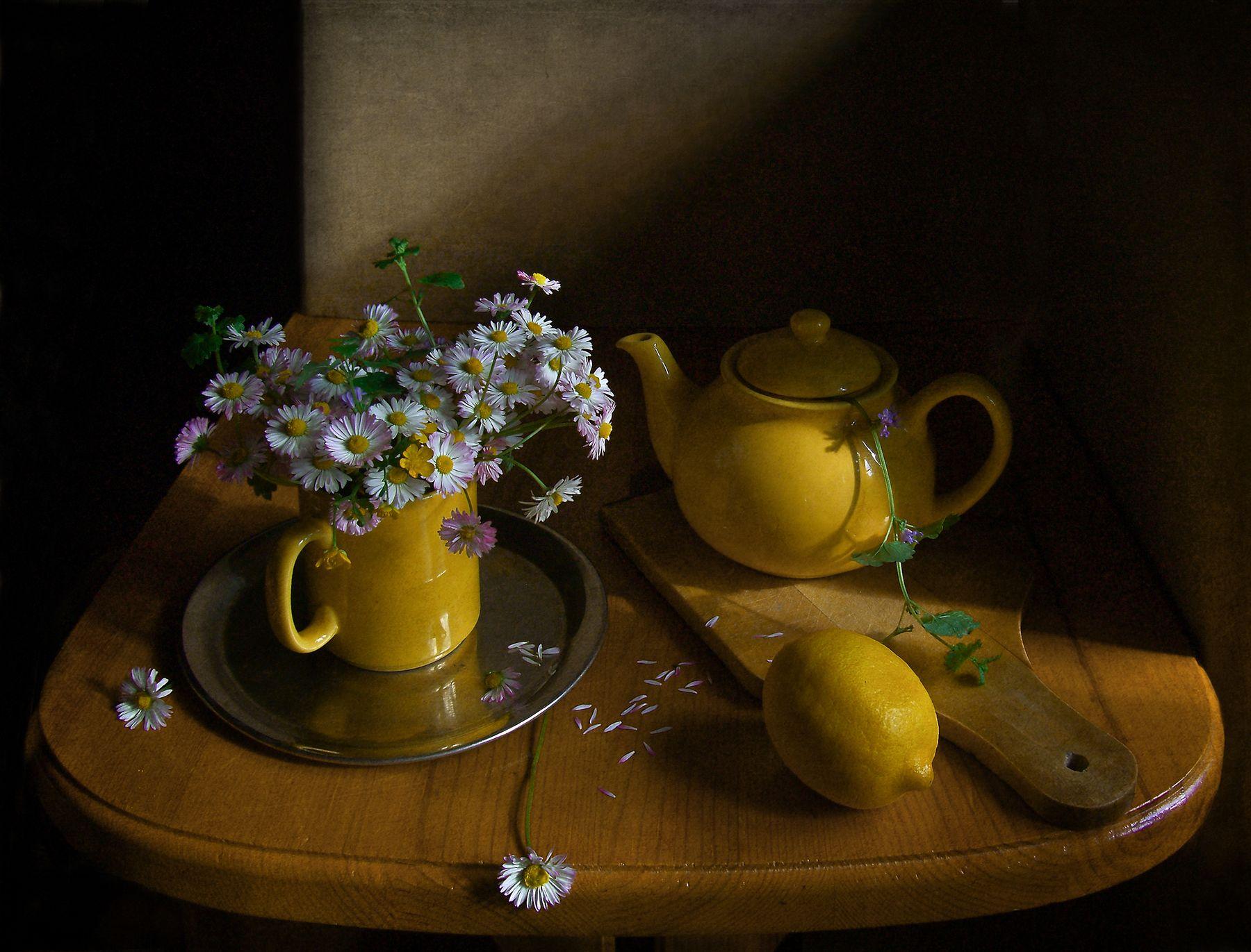 Чай с маргаритками