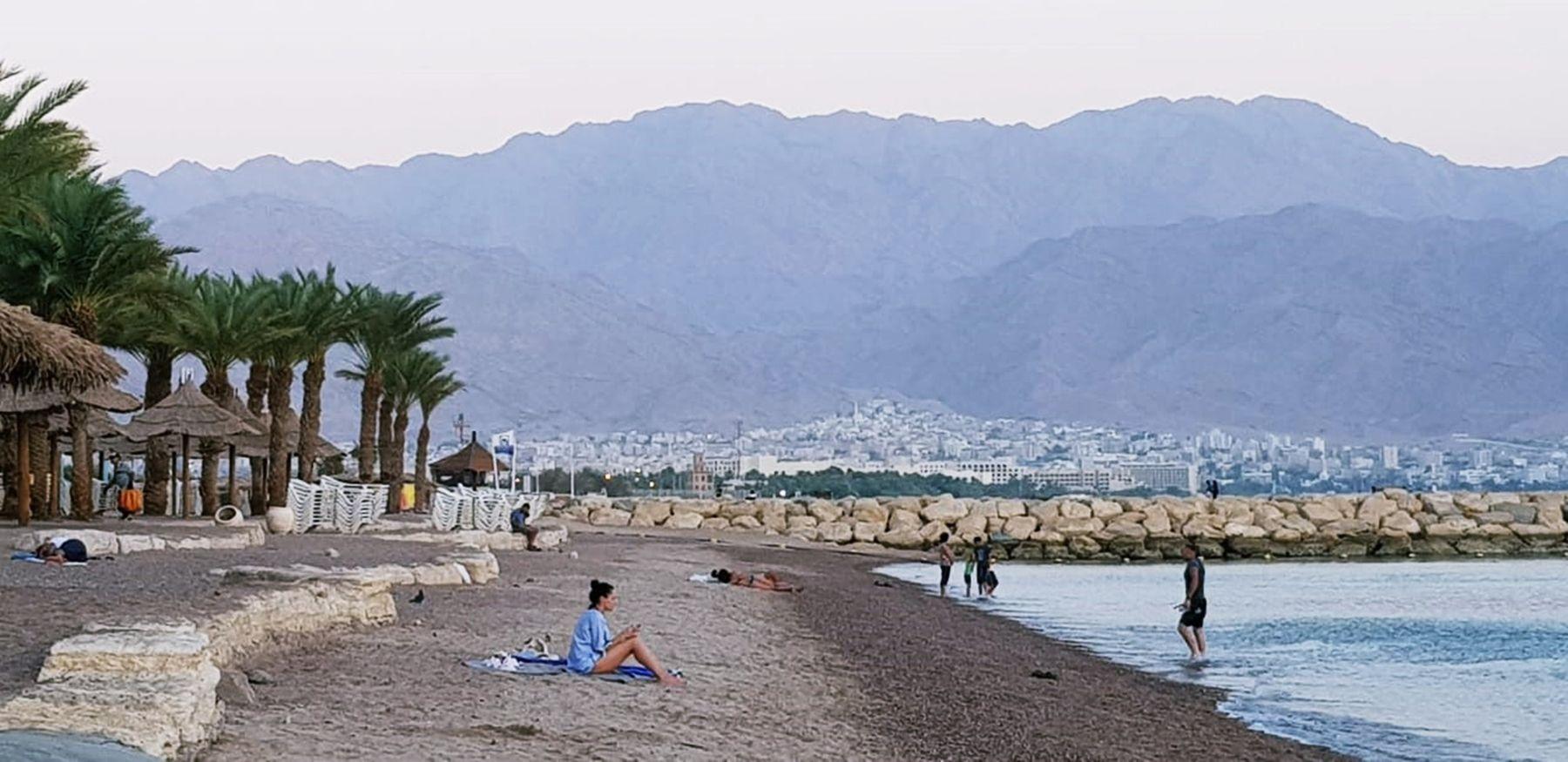 На побережье Красного моря