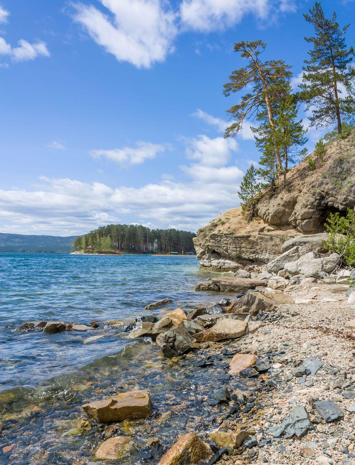 Озеро Тургояк. Южный Урал Миасс Тургояк природа лес весна Май