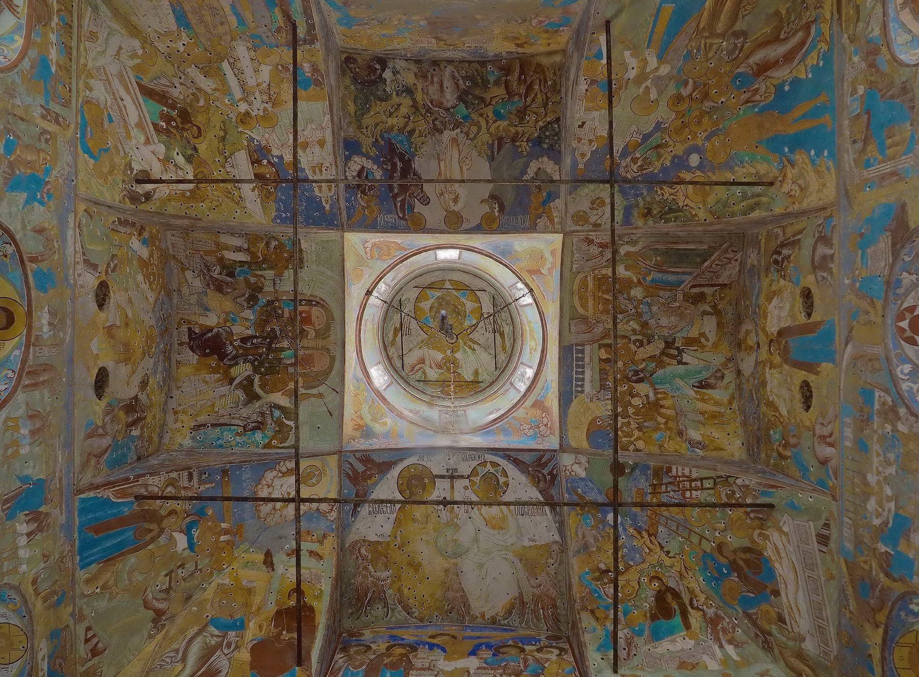 Фрески Ростовского кремля
