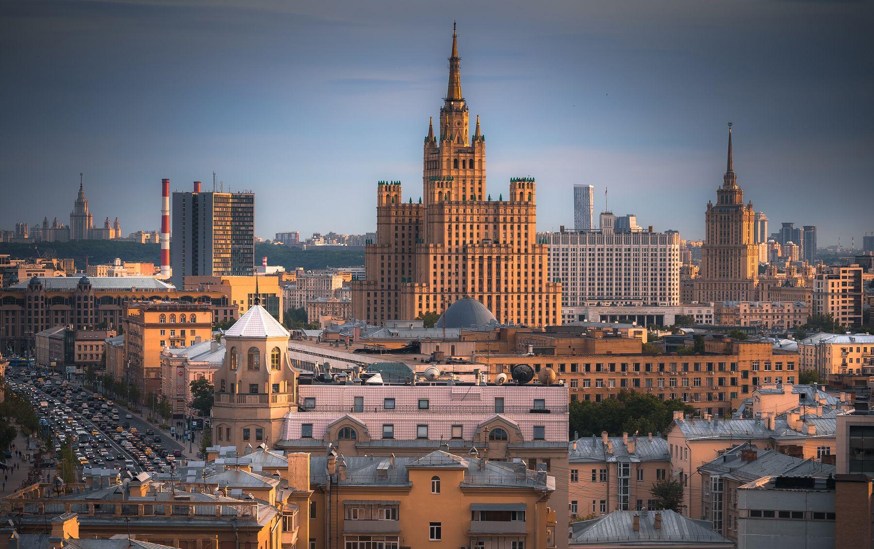 Архитектура Москвы во всей своей красоте Москва Moscow