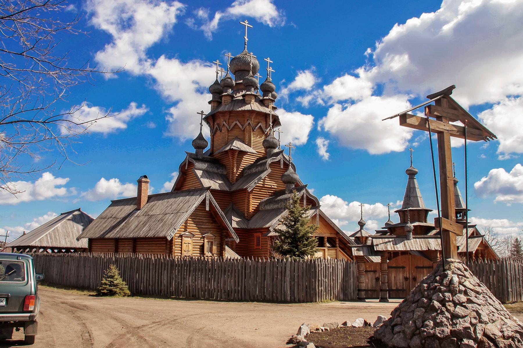 Деревянные церкви Руси Архитектура Церковь