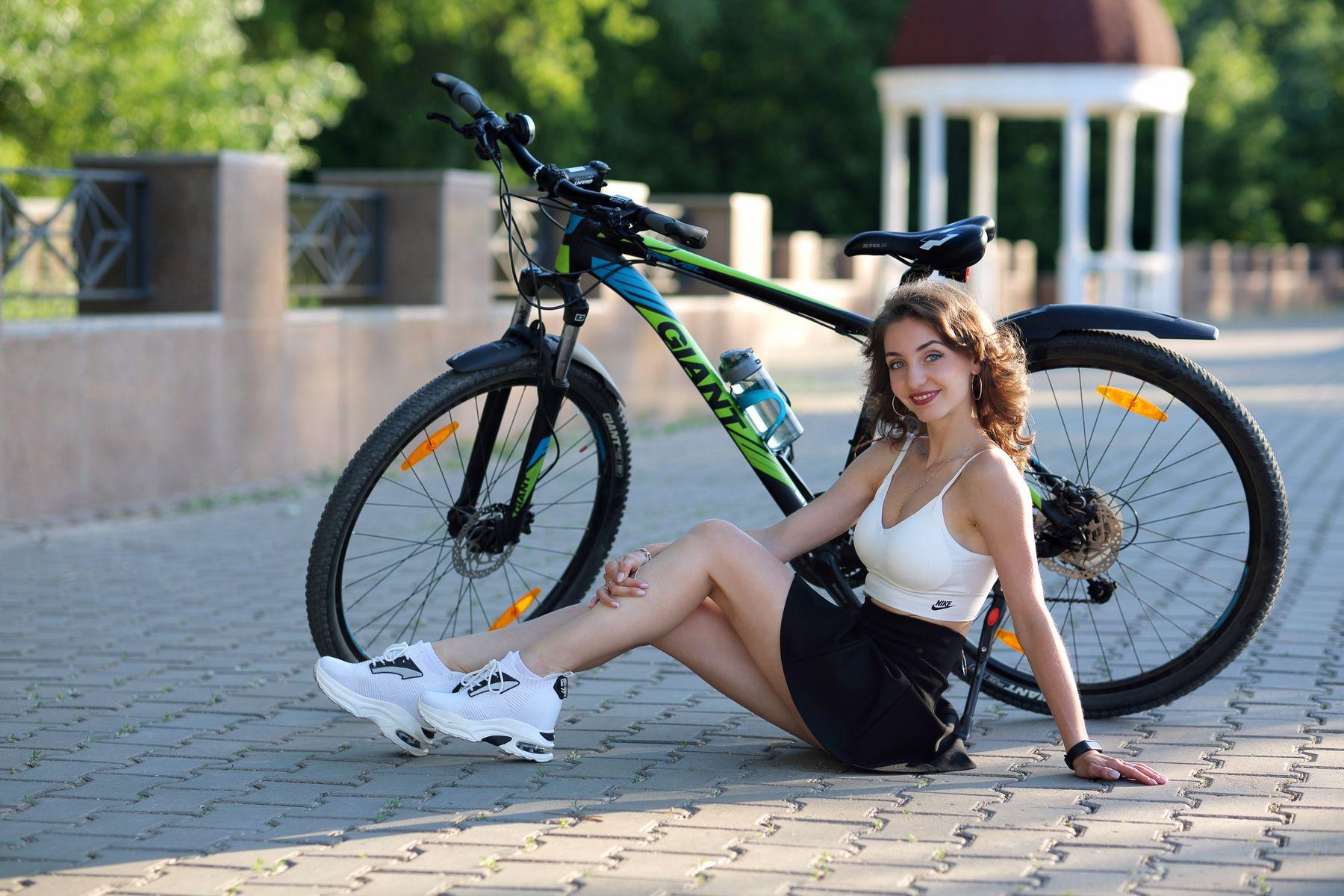 Оля портрет девушка модель