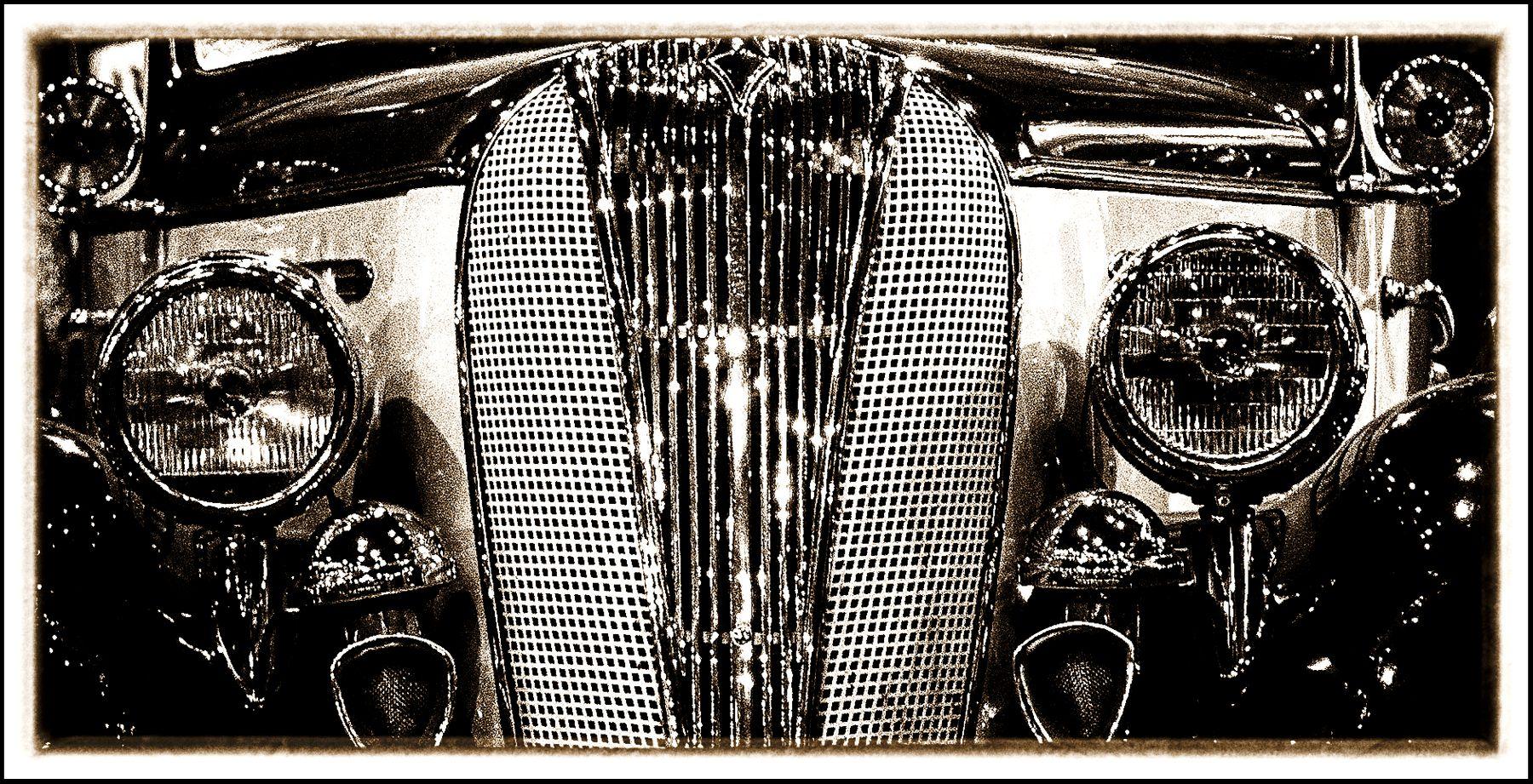 Авто фары машина музей