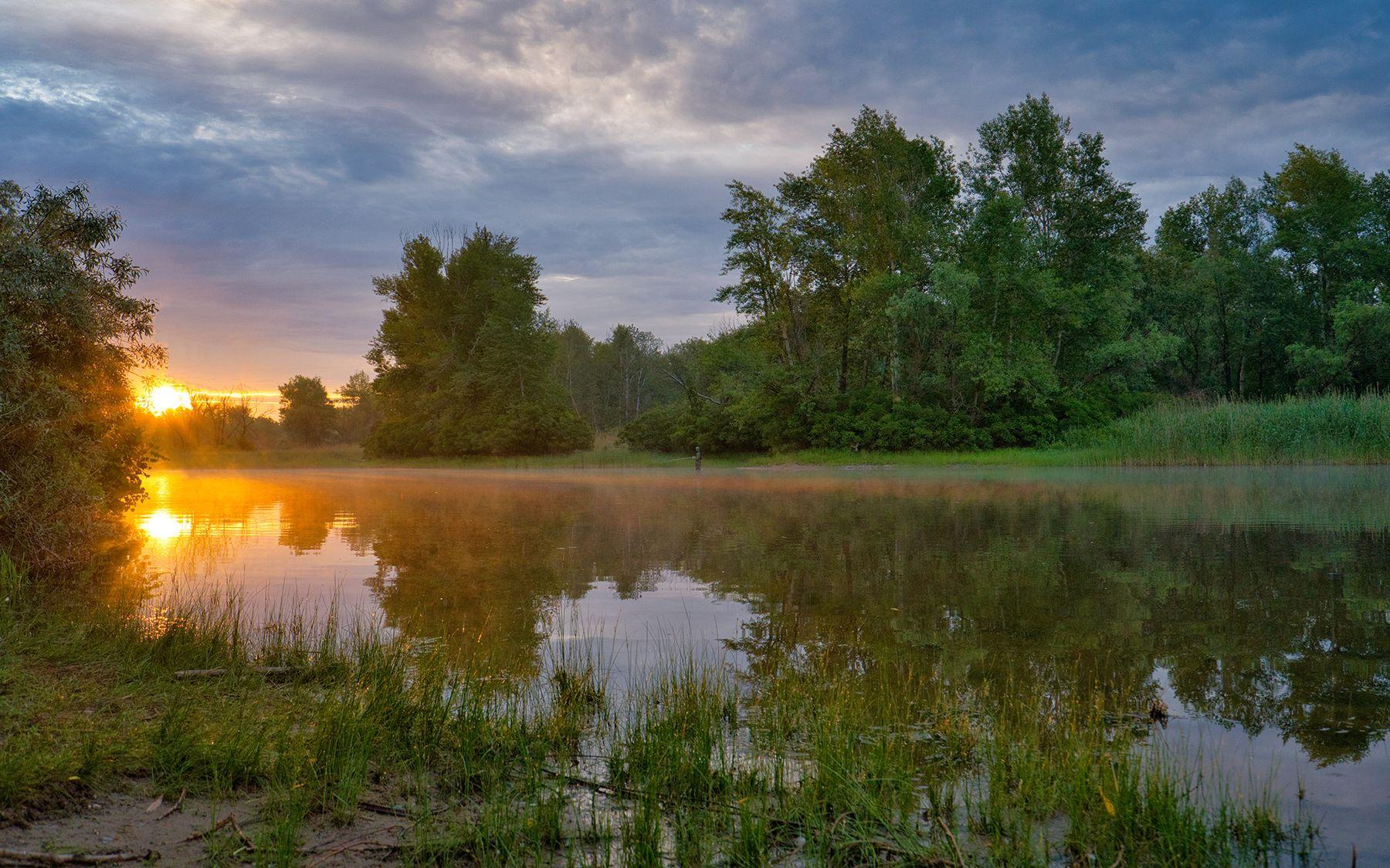 *** пейзаж природа рассвет