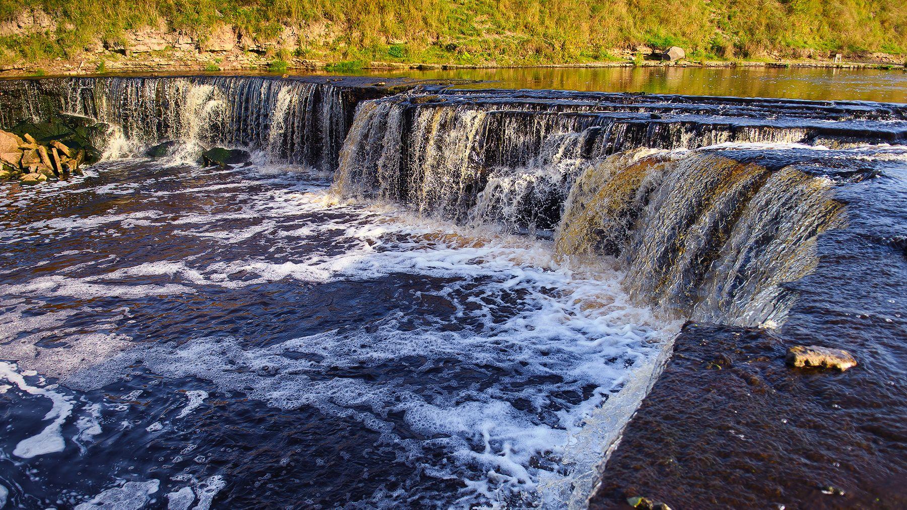 Саблинский водопад ленинградская область саблинский водопад осень ульяновка