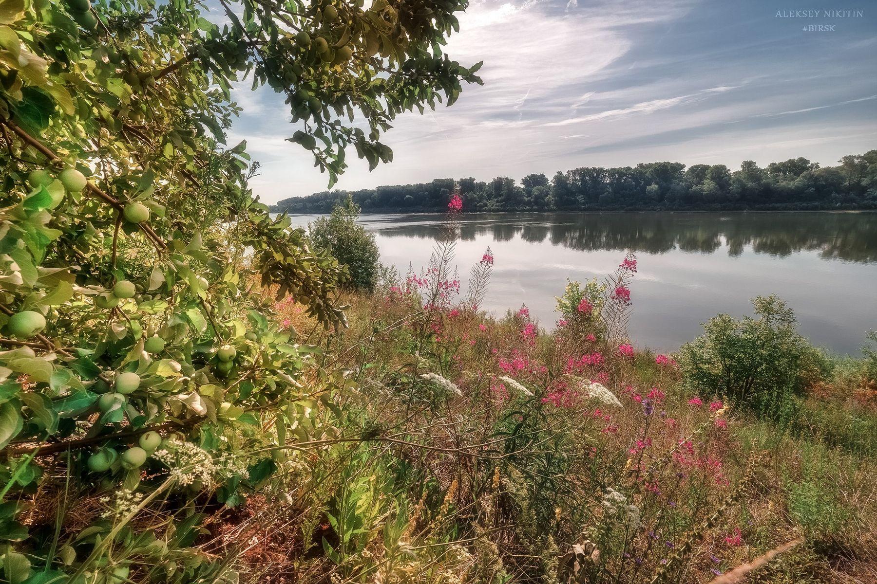 Июль, река Агидель