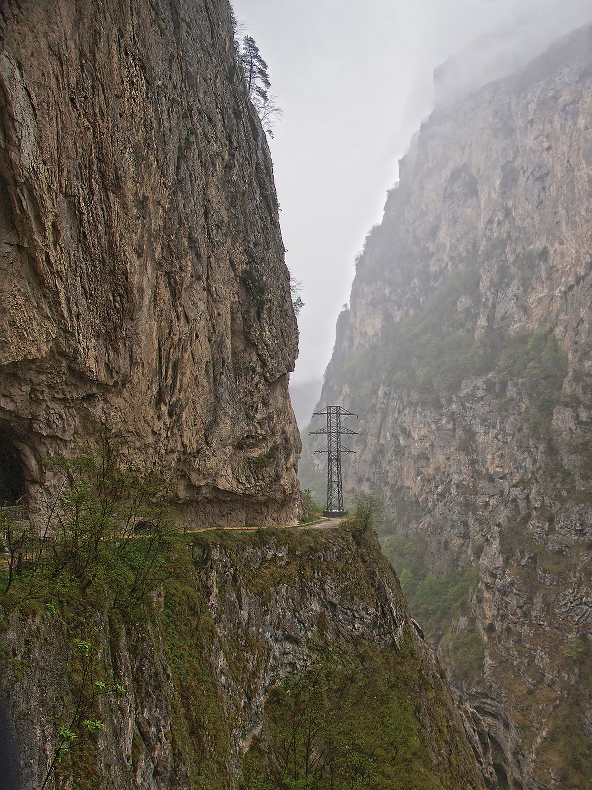 Черекское ущелье Черекское ущелье