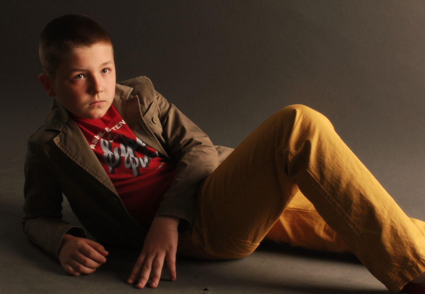 Семен портрет дети модели студия
