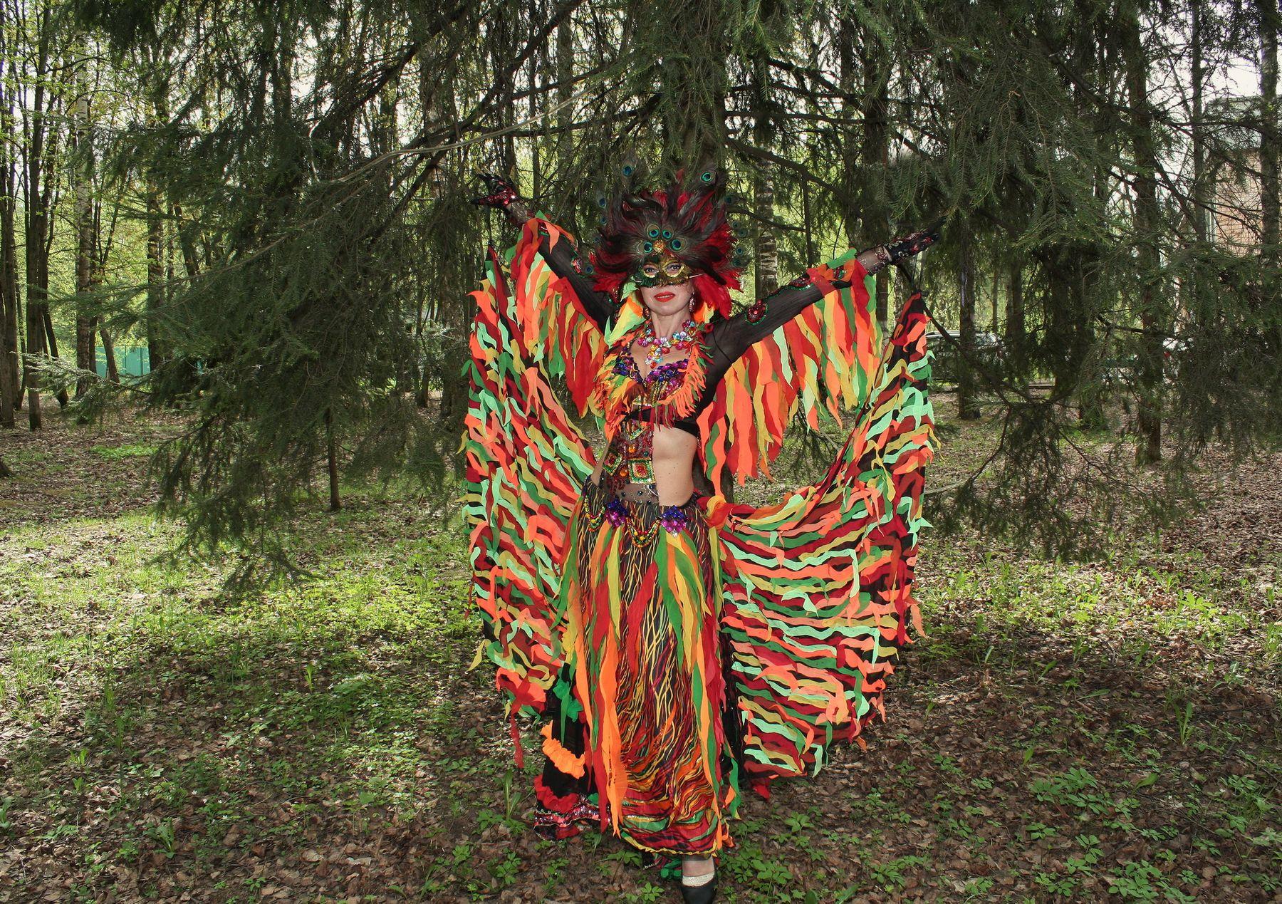 Жар-Птица - огненная Наталья Малкина