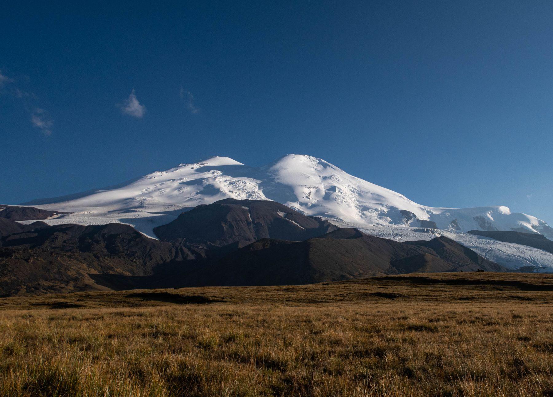 Эльбрус горы природа