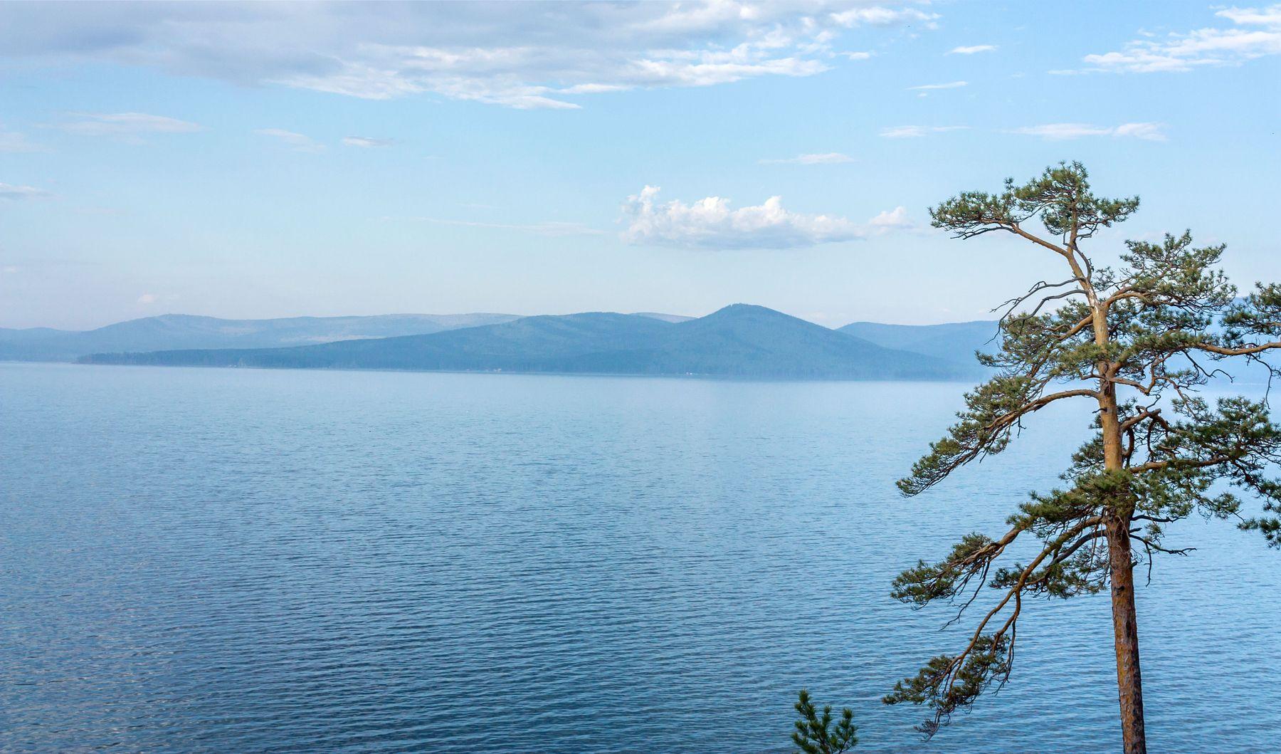 Озеро Тургояк Южный Урал Миасс Тургояк