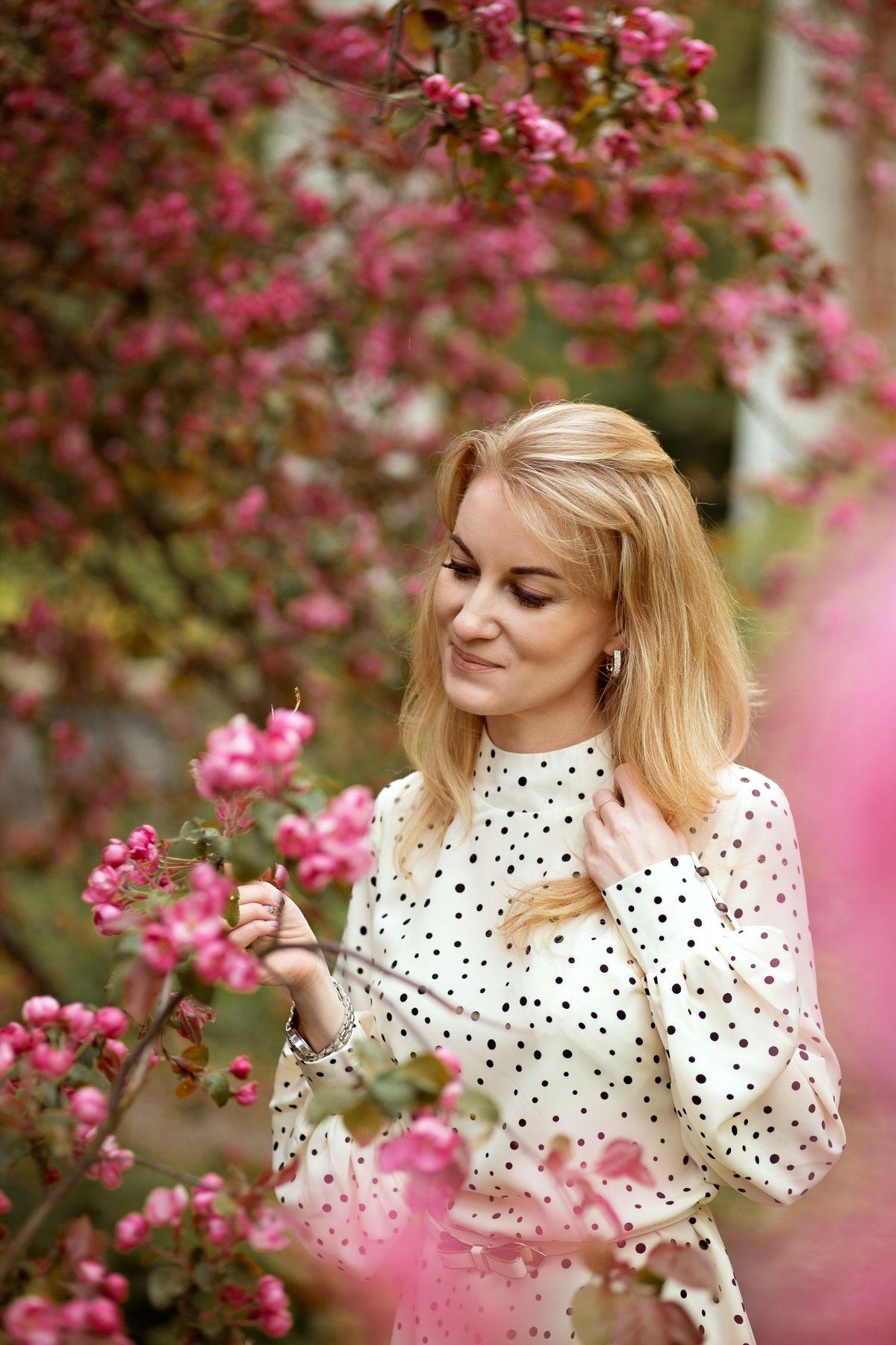 Портрет в цветении