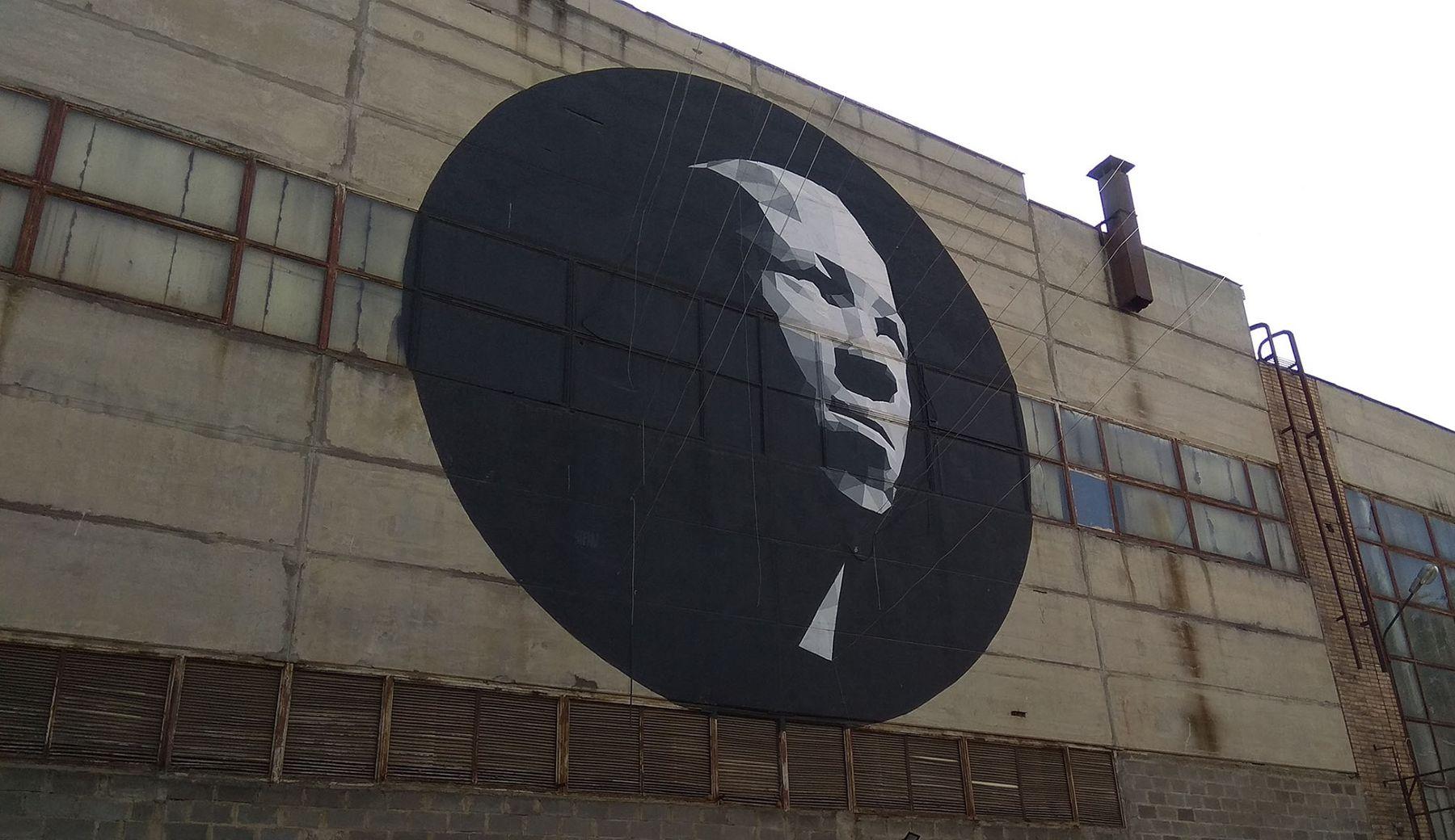 Граффити на МОЗАЛе Граффити