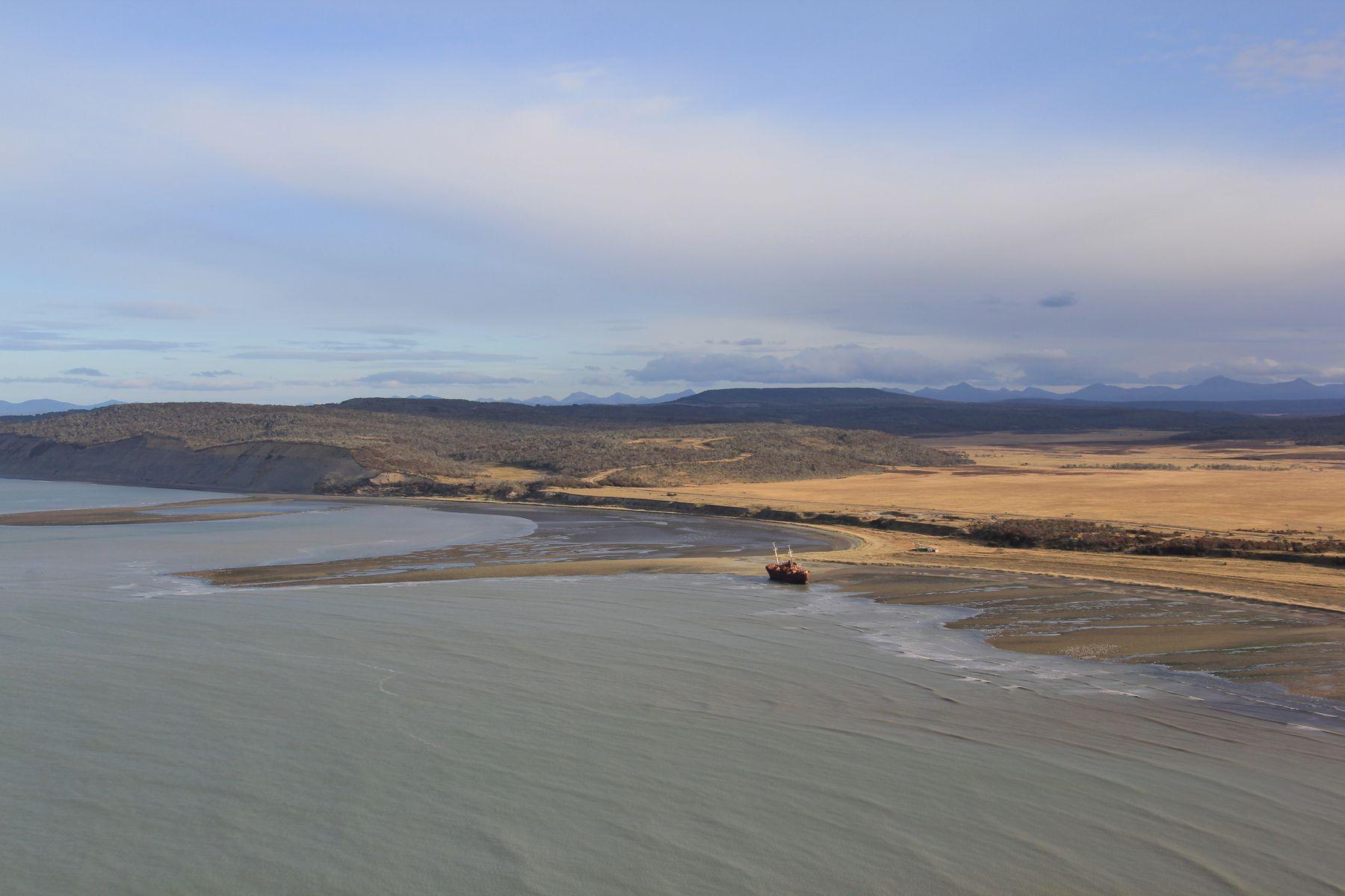 На Огенной Земле. Аргентина ледник пейзаж скалы