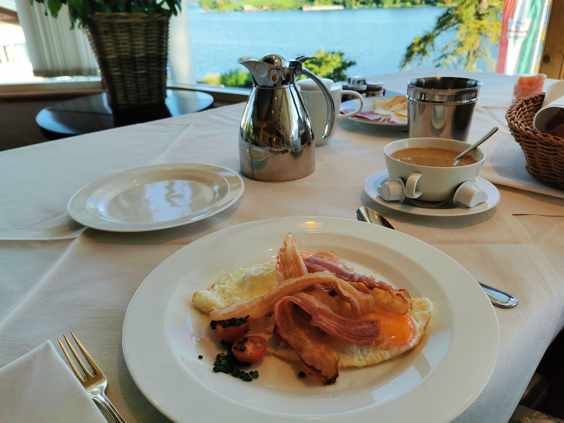 Скромный завтрак