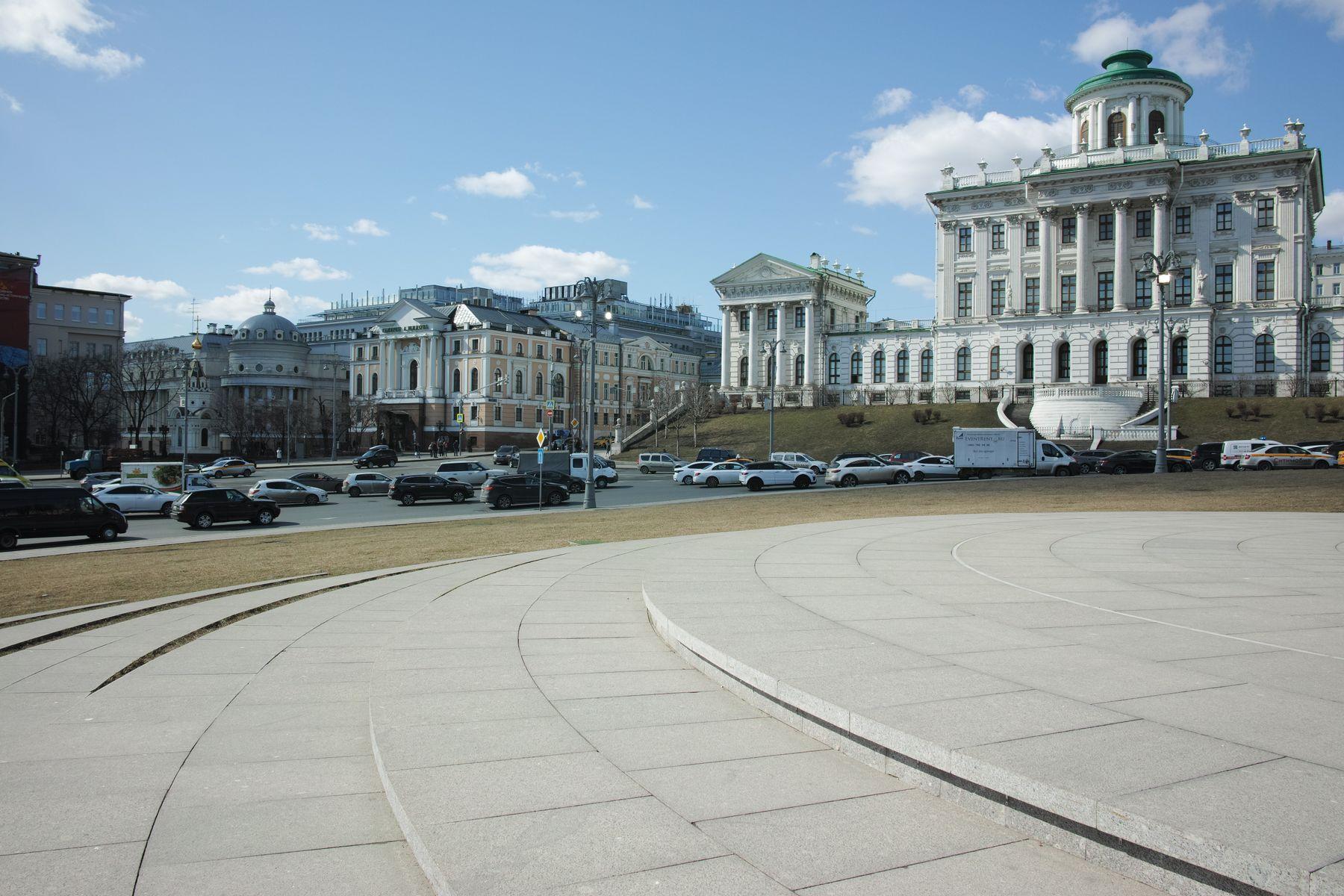 Боровицкая площадь город Москва площадь Боровицкая