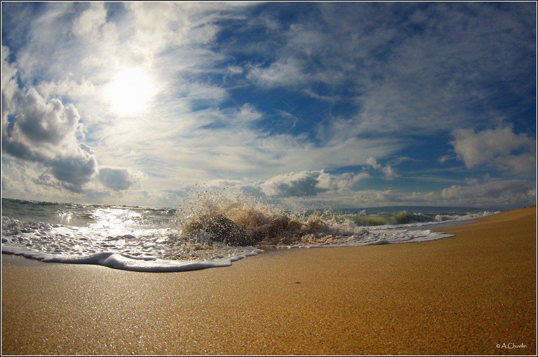 Январский прибой январь прибой чёрное море.феодосия