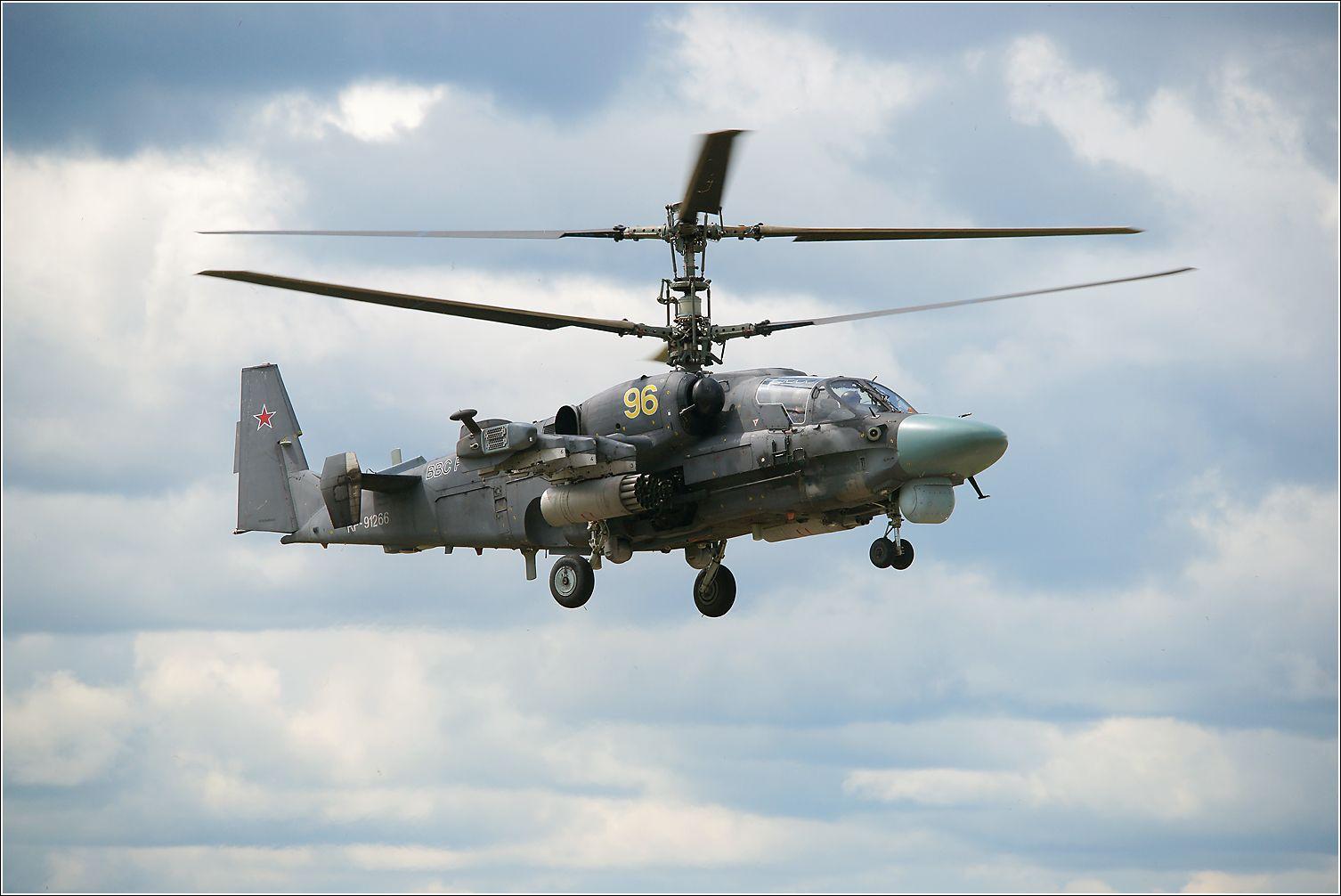 Ка-52 Ка-52 авиация вертолет полет