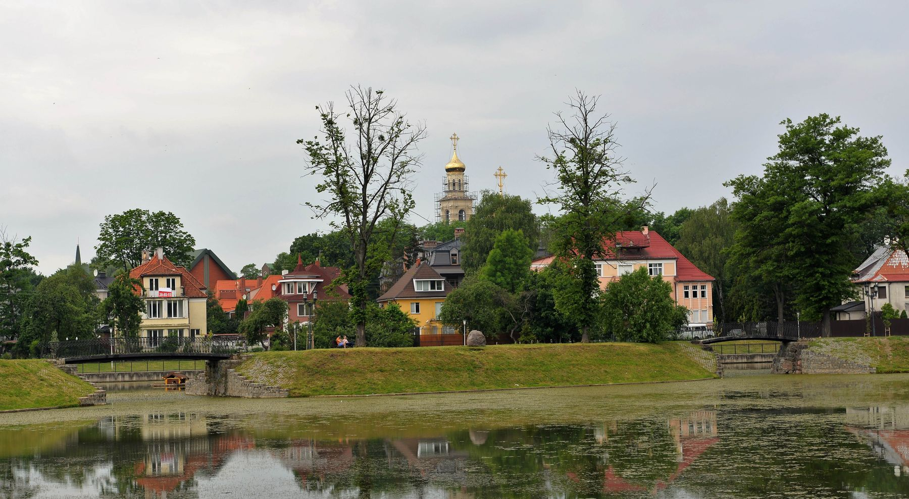 ***Озеро Поплавок. Калининград