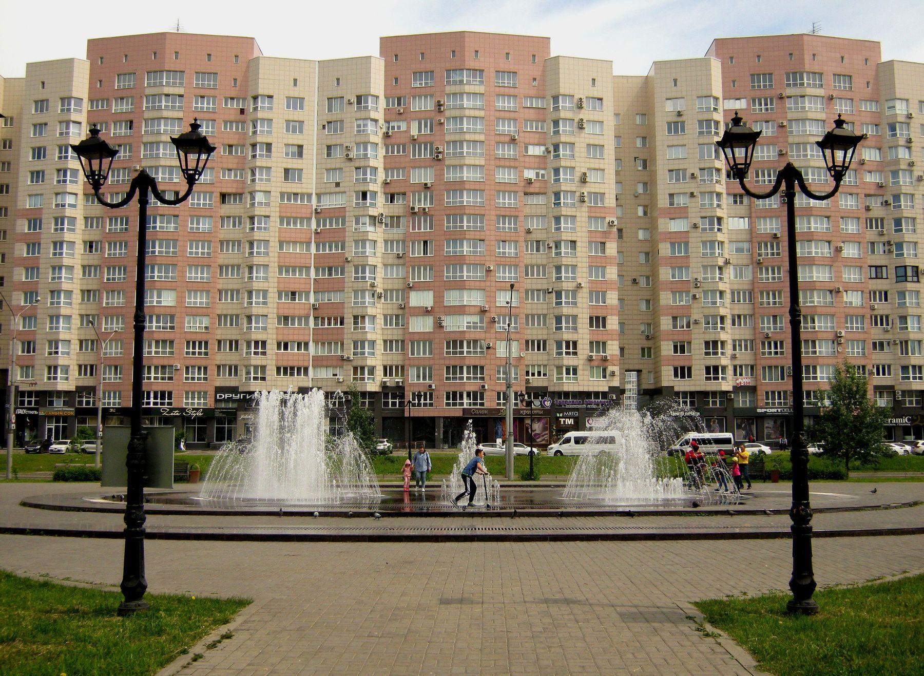 Сквер имени Ермакова. Путешествия жанр арт детский мир архитектура техно