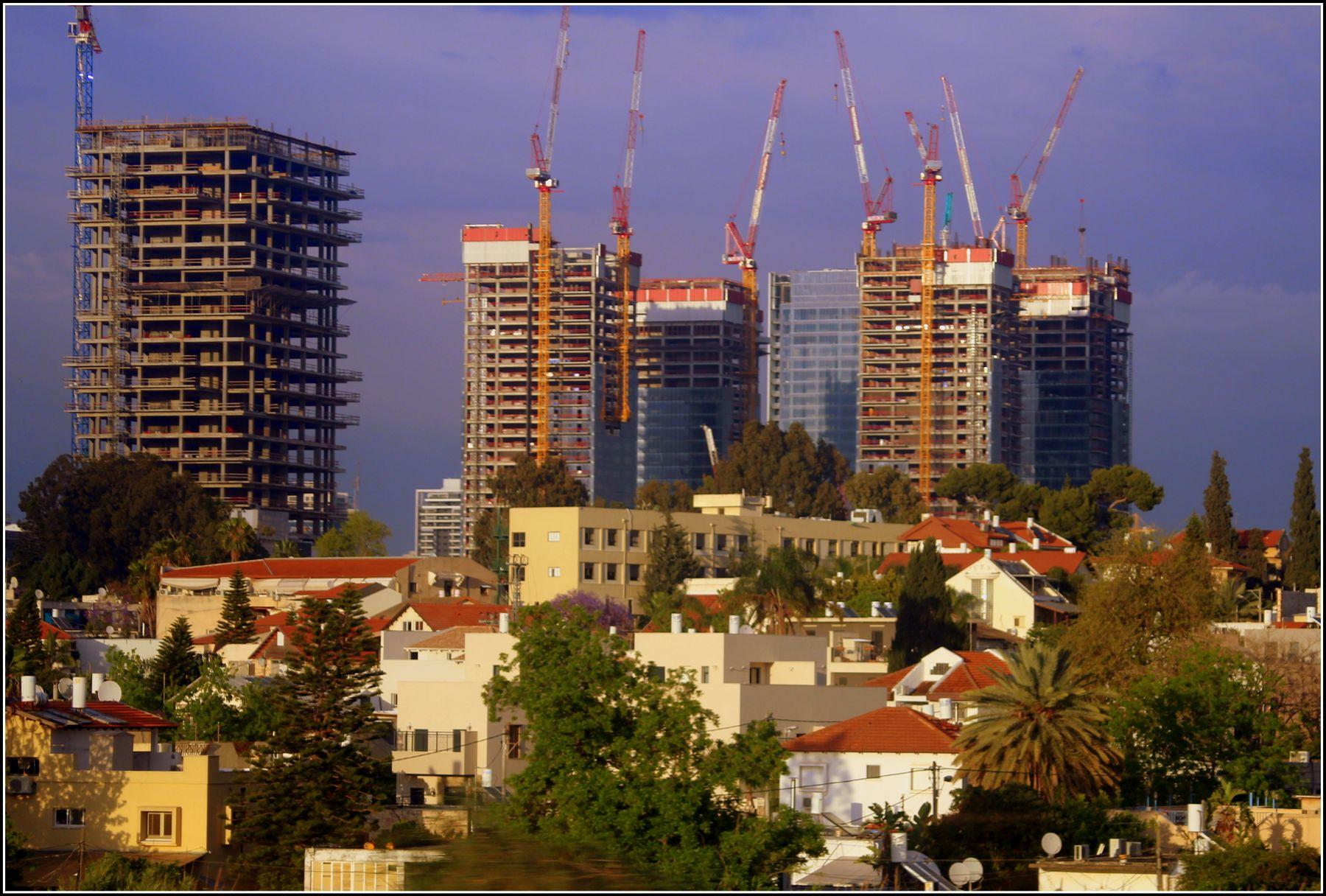 Особенности современного развития. город пета-хтиква израиль