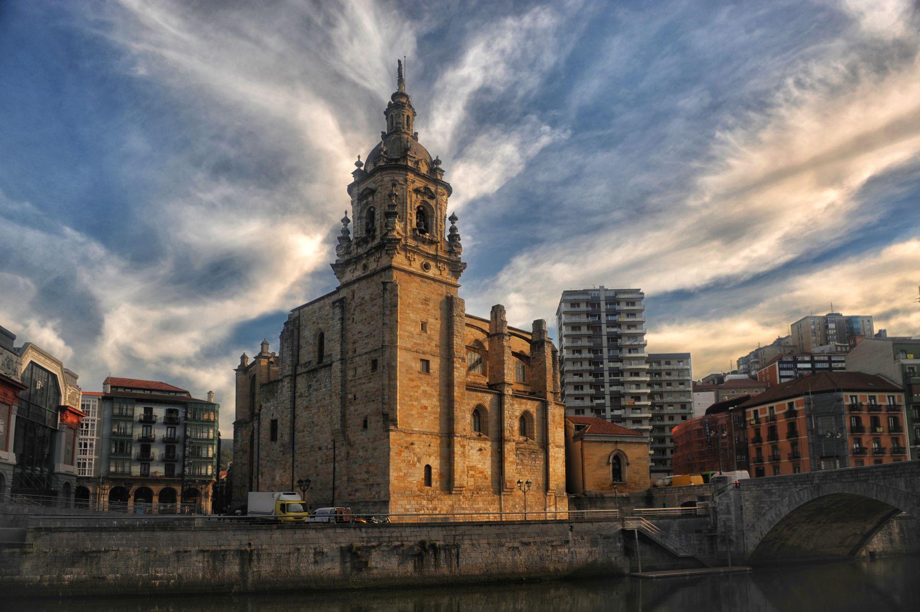 San Anton eliza  - Bilbao Собор Бильбао Страна Басков